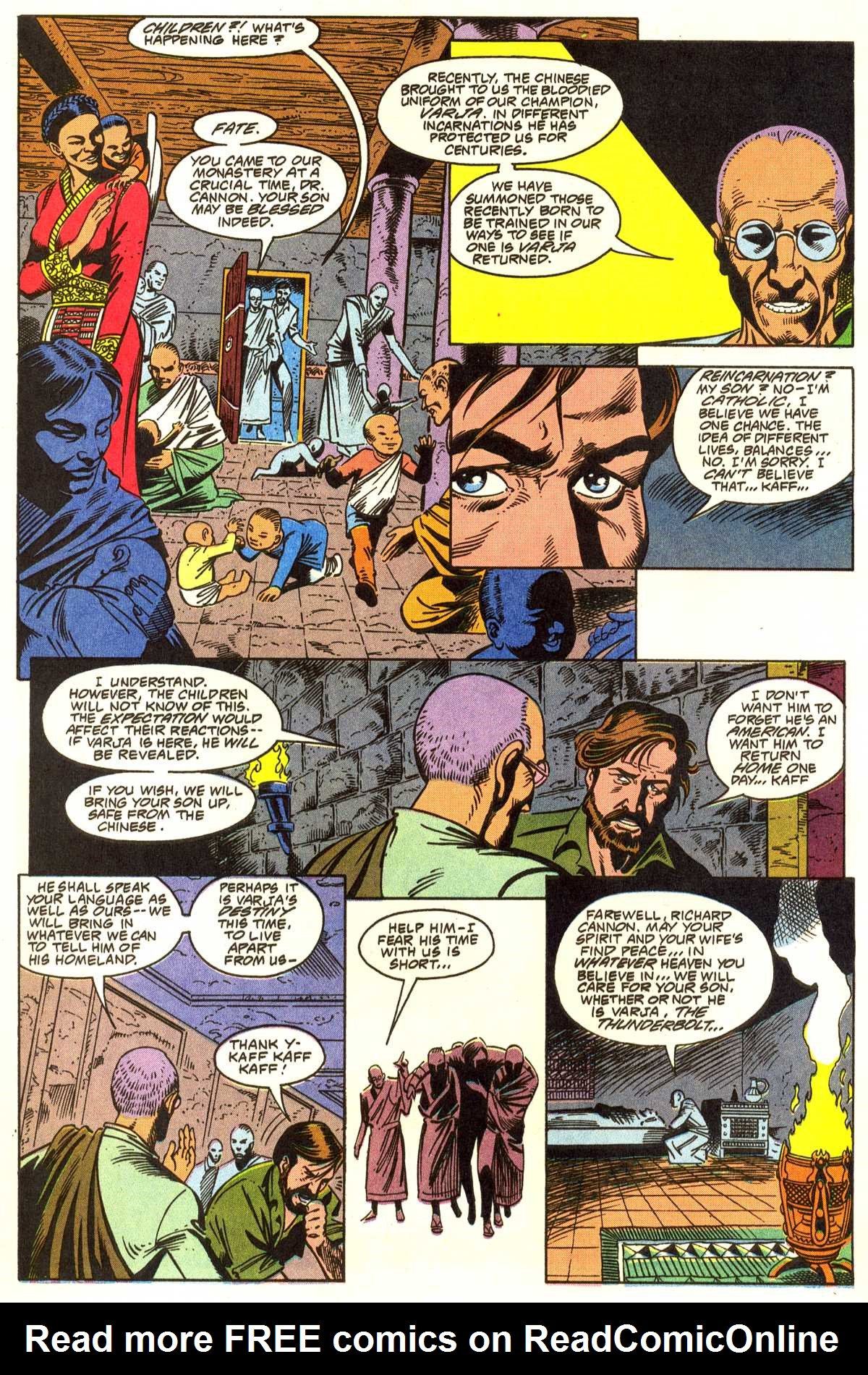 Read online Peter Cannon--Thunderbolt (1992) comic -  Issue #1 - 15