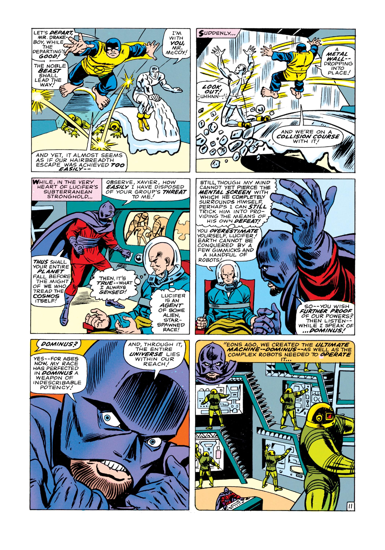 Read online Uncanny X-Men (1963) comic -  Issue #21 - 12