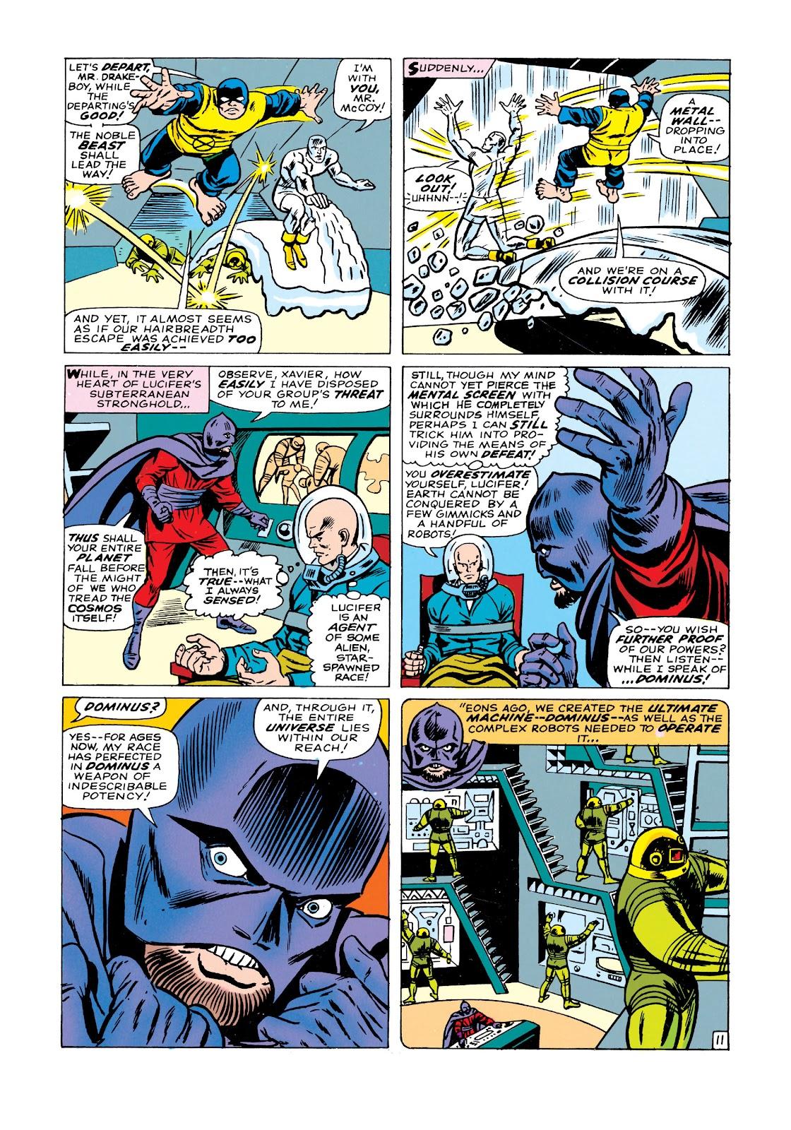 Uncanny X-Men (1963) issue 21 - Page 12