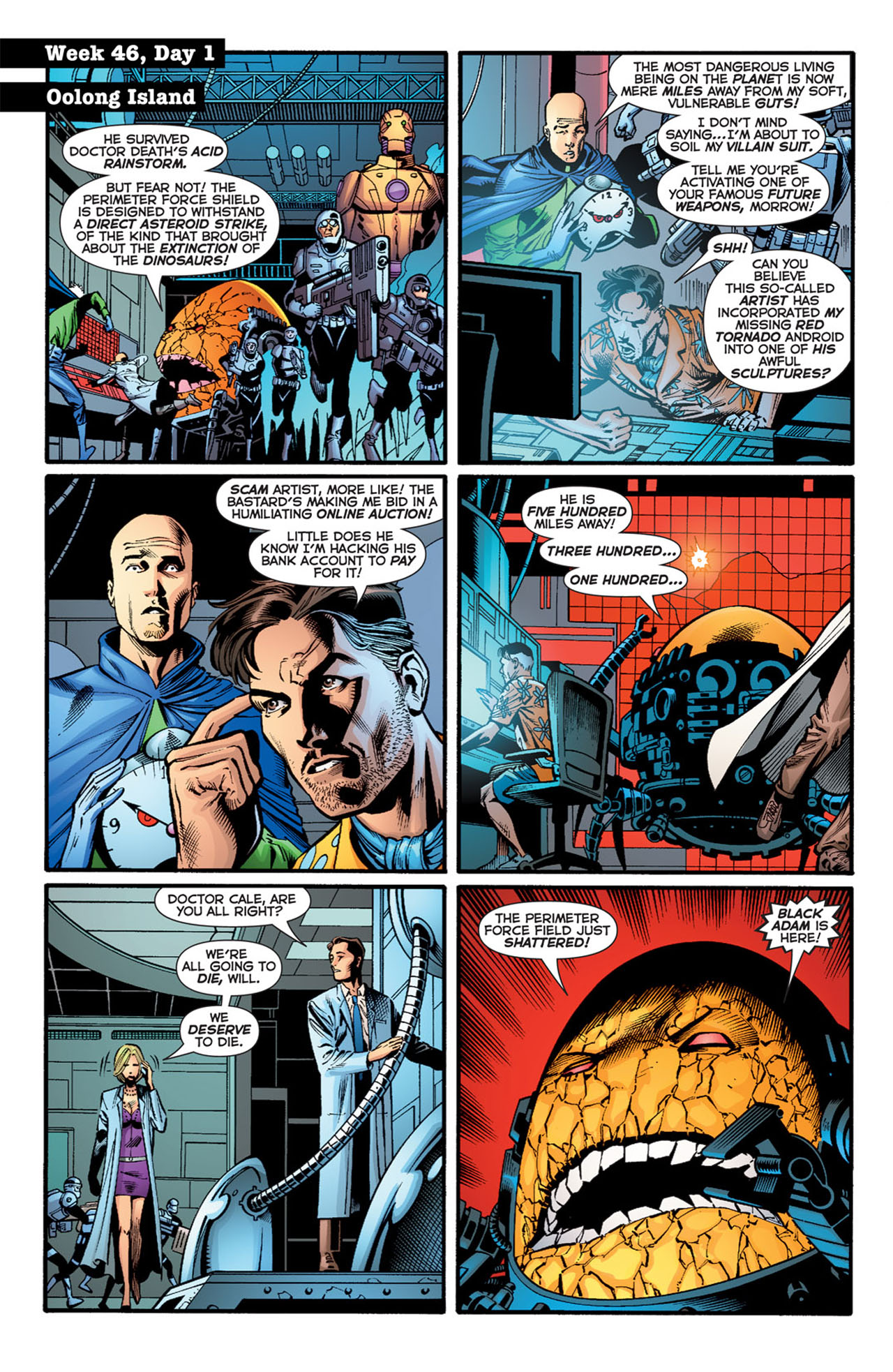 Read online 52 comic -  Issue #46 - 3