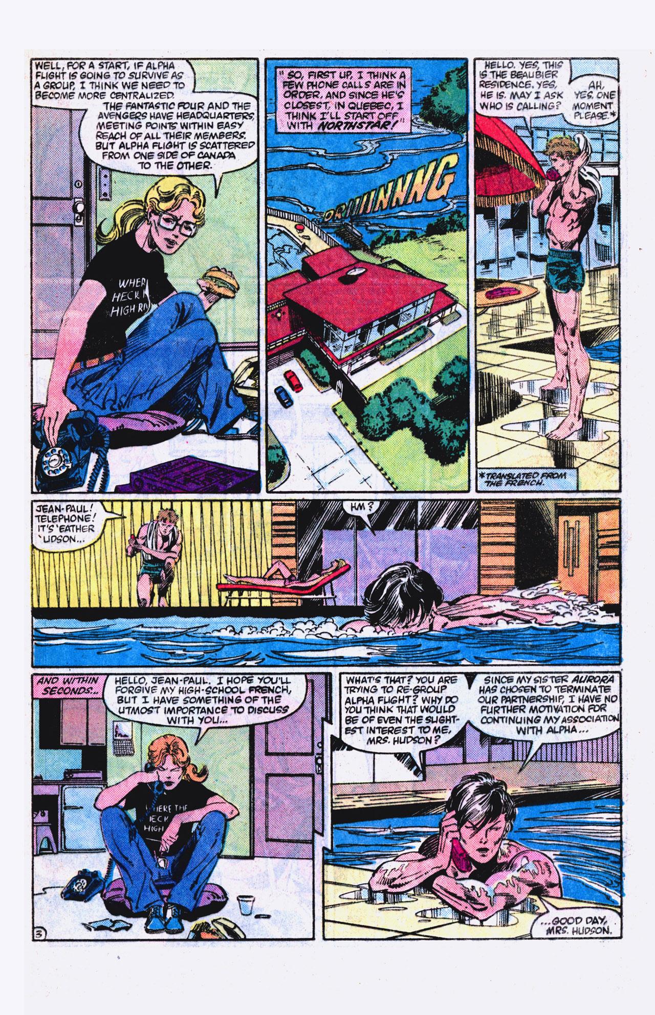 Read online Alpha Flight (1983) comic -  Issue #18 - 4