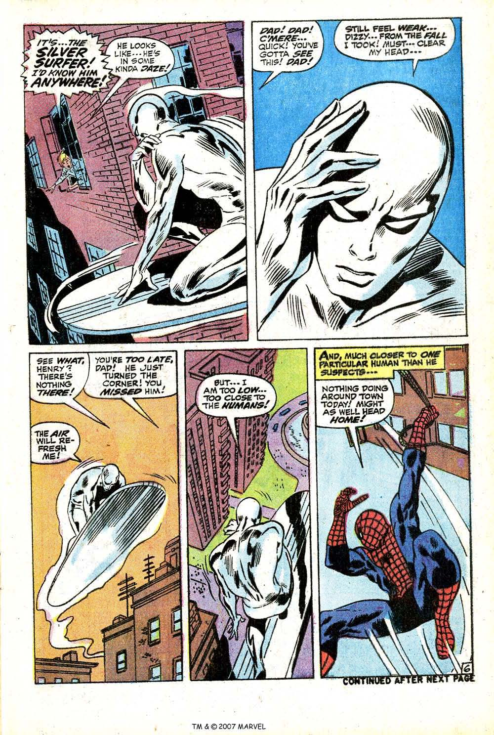 Read online Silver Surfer (1968) comic -  Issue #14 - 9