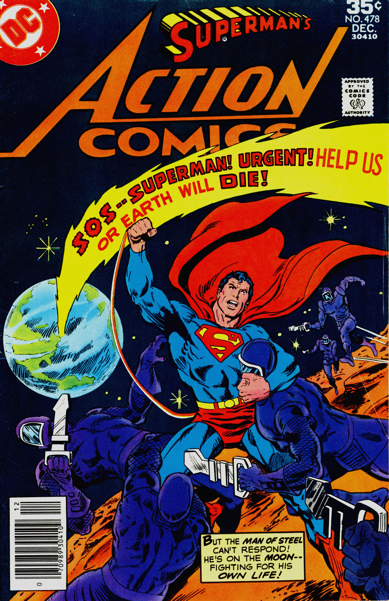 Read online Action Comics (1938) comic -  Issue #478 - 1