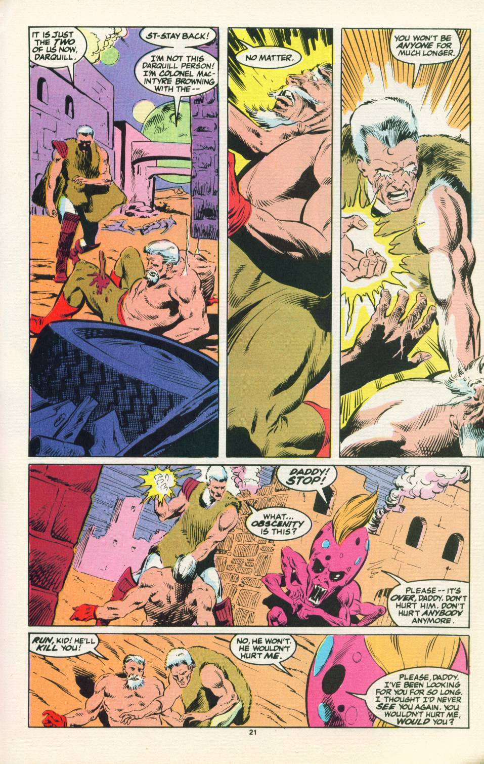 Read online Justice (1986) comic -  Issue #22 - 22