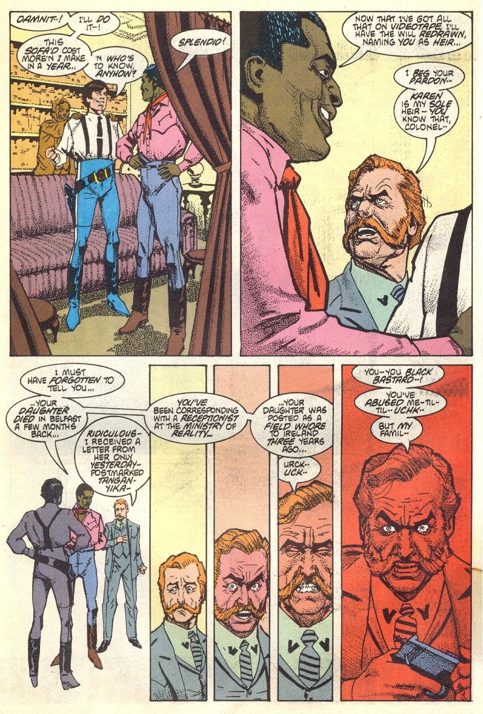 Read online American Flagg! comic -  Issue #17 - 5