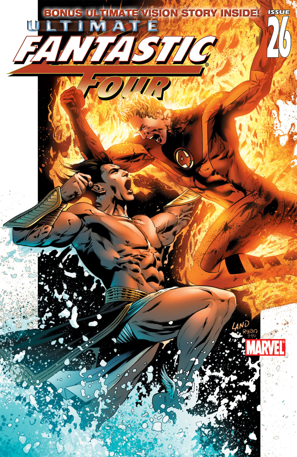 Read online Ultimate Fantastic Four (2004) comic -  Issue #26 - 1