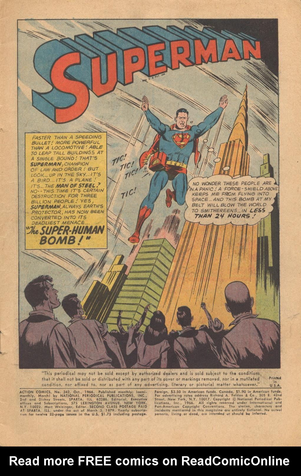 Read online Action Comics (1938) comic -  Issue #342 - 3