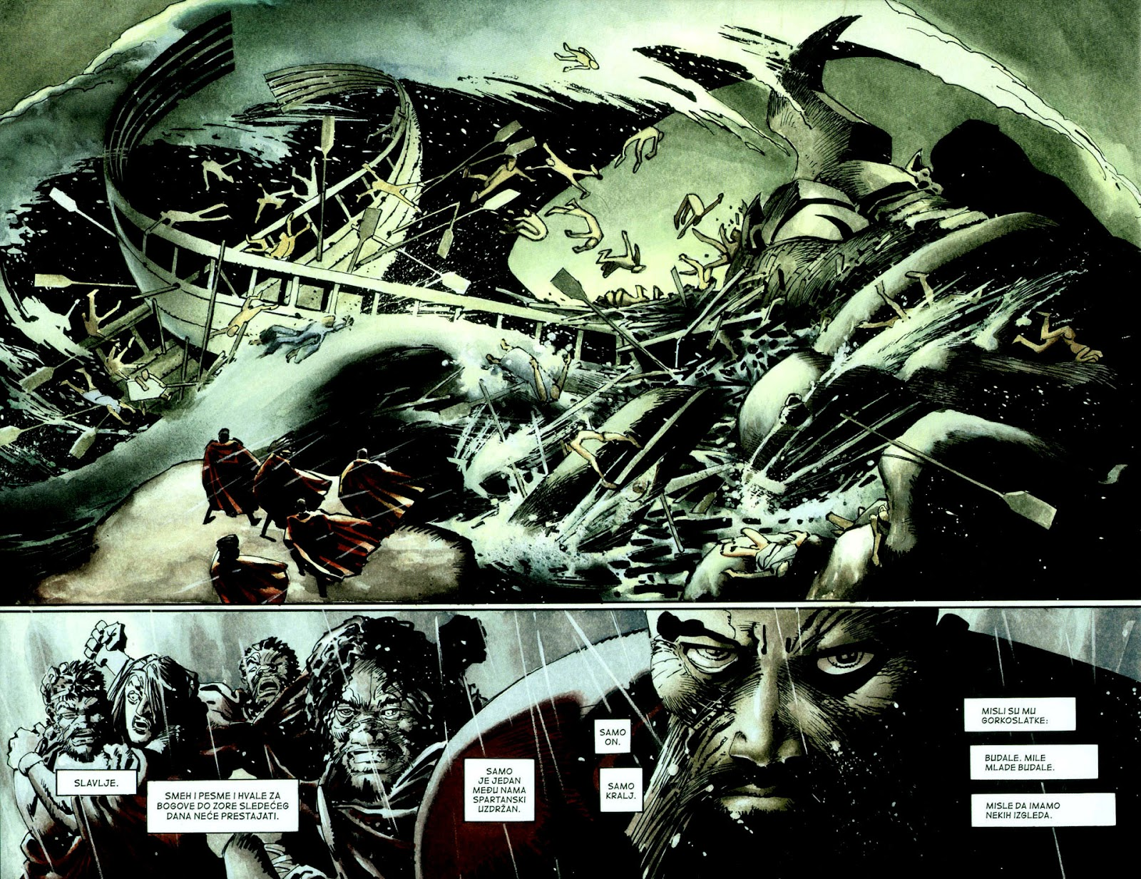Read online 300 (2007) comic -  Issue # TPB - 33
