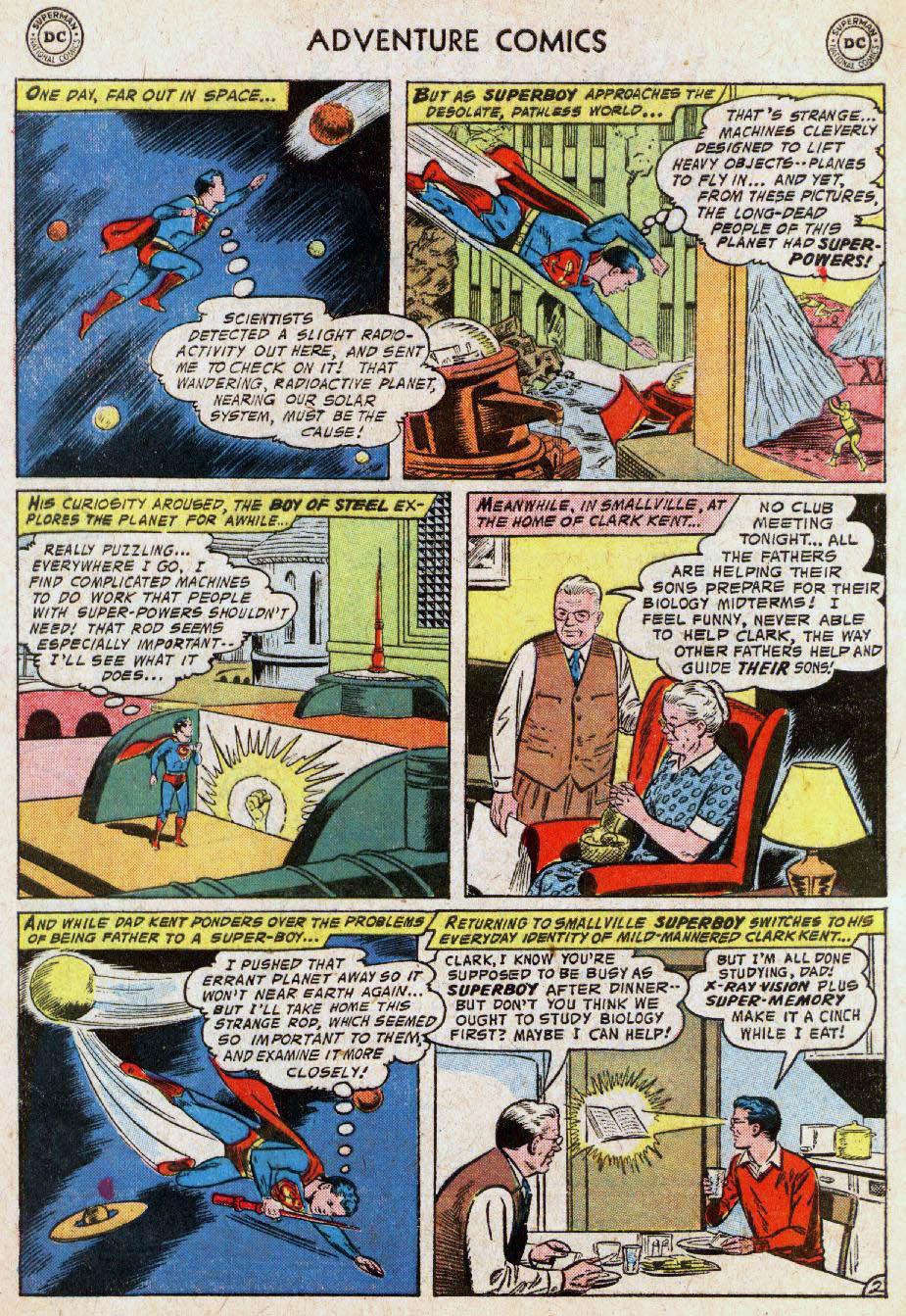 Read online Adventure Comics (1938) comic -  Issue #236 - 4