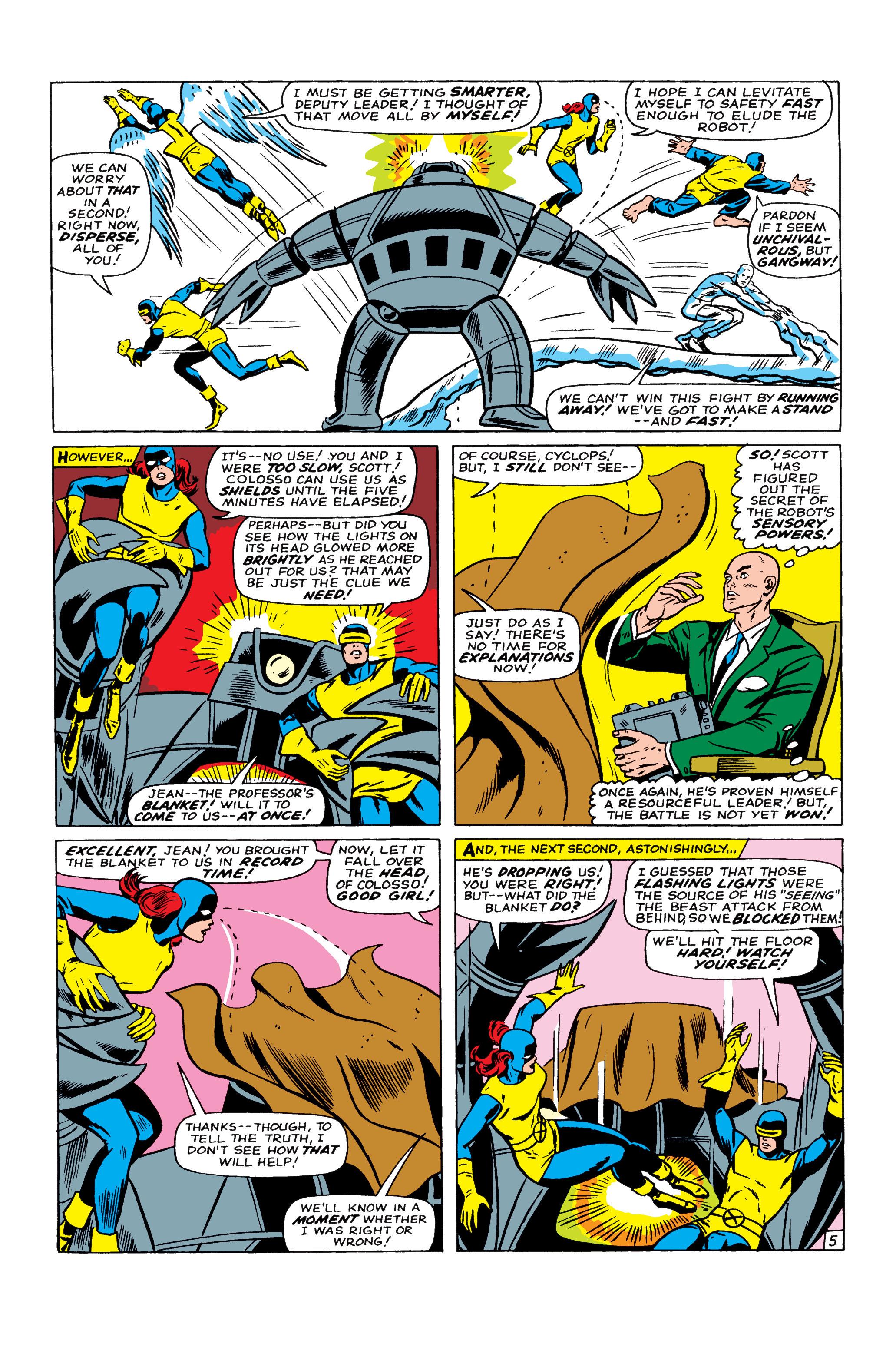 Read online Uncanny X-Men (1963) comic -  Issue #22 - 6