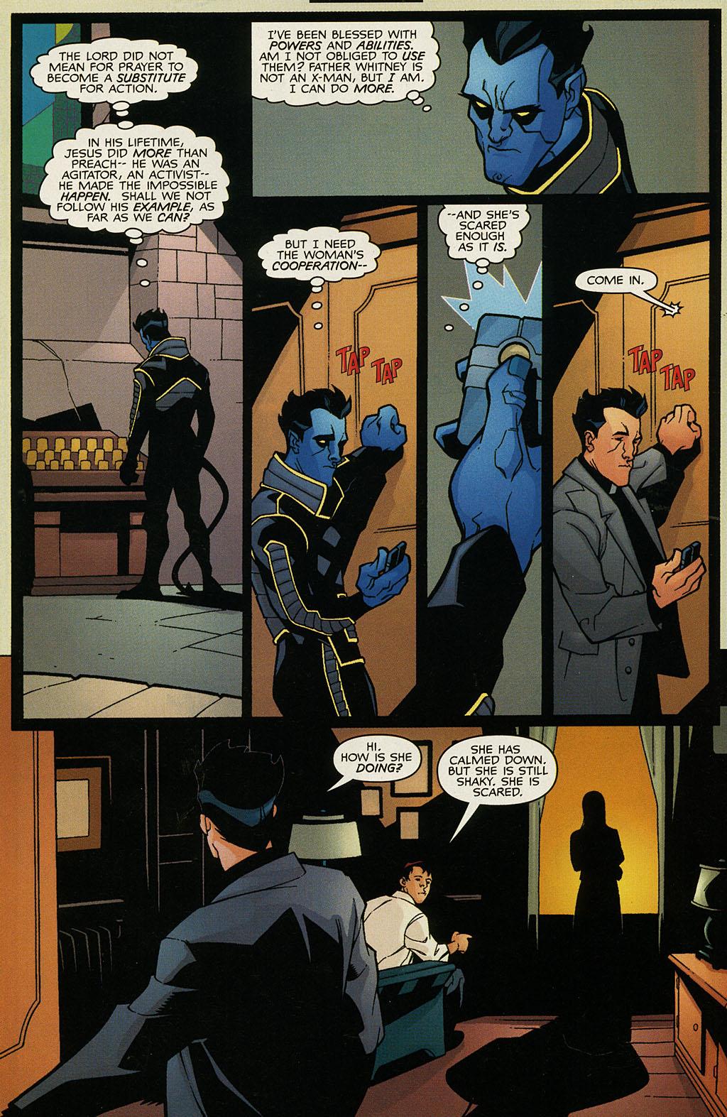 Read online Nightcrawler (2002) comic -  Issue #1 - 11