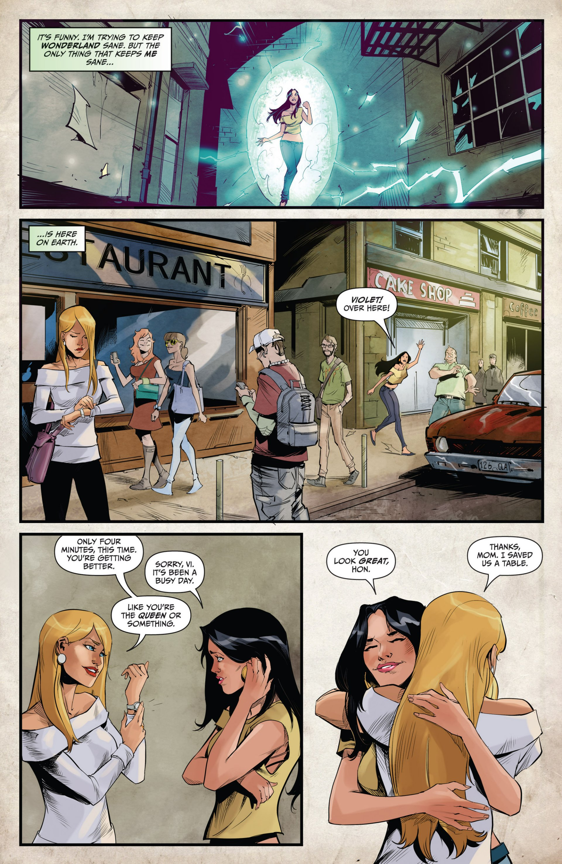 Read online Grimm Fairy Tales vs. Wonderland comic -  Issue #1 - 10