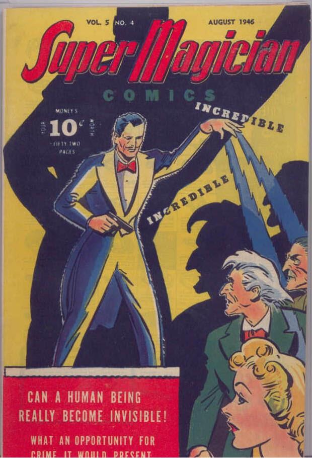 Read online Super-Magician Comics comic -  Issue #52 - 2