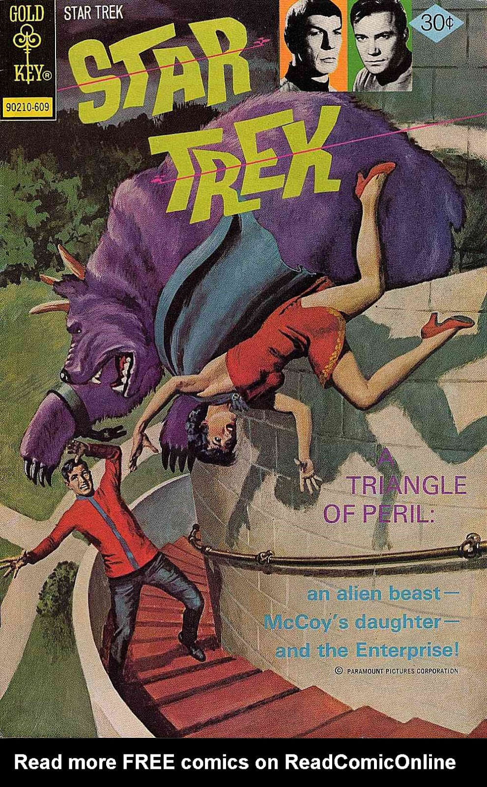 Star Trek (1967) issue 40 - Page 1