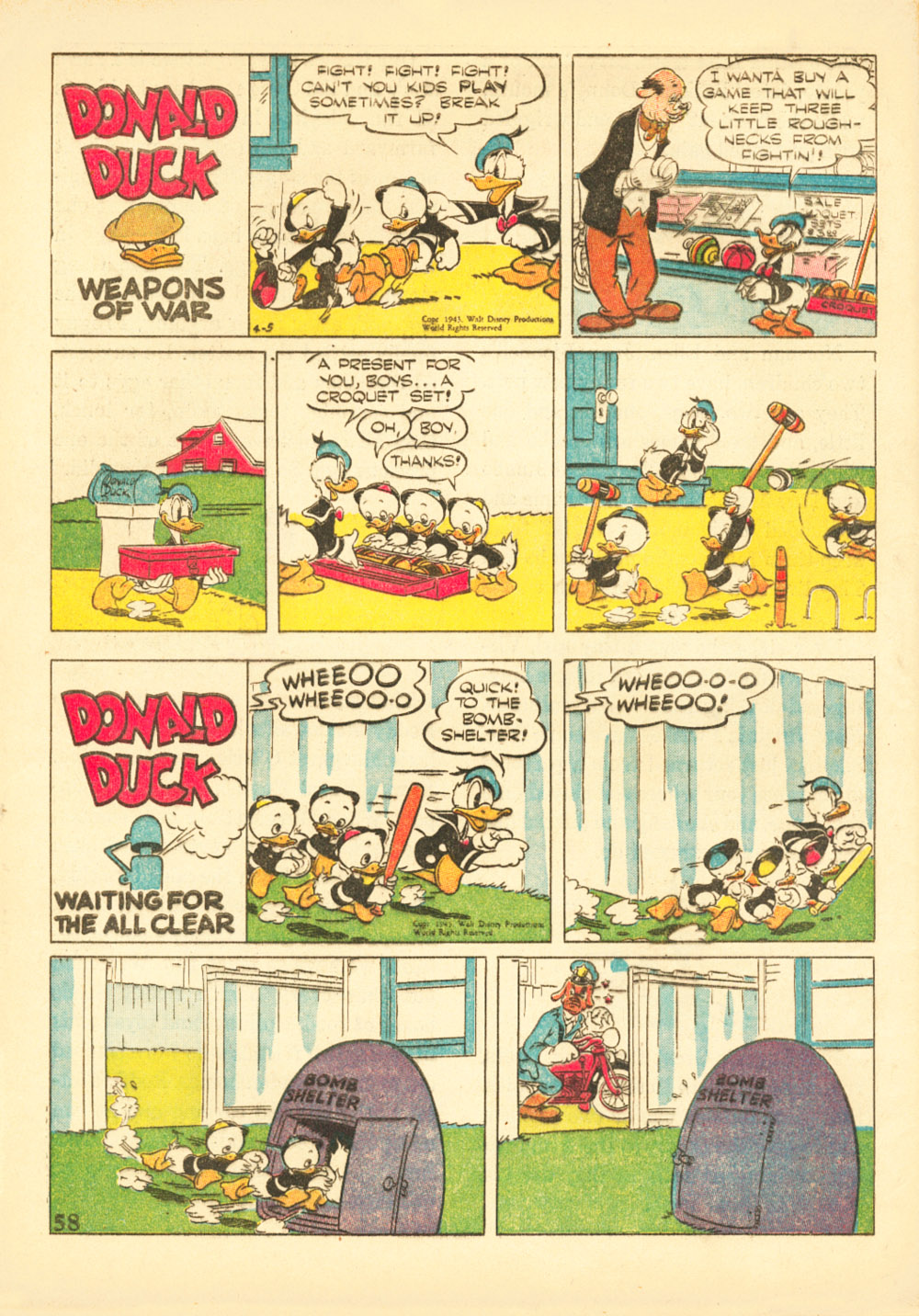 Walt Disney's Comics and Stories issue 38 - Page 60