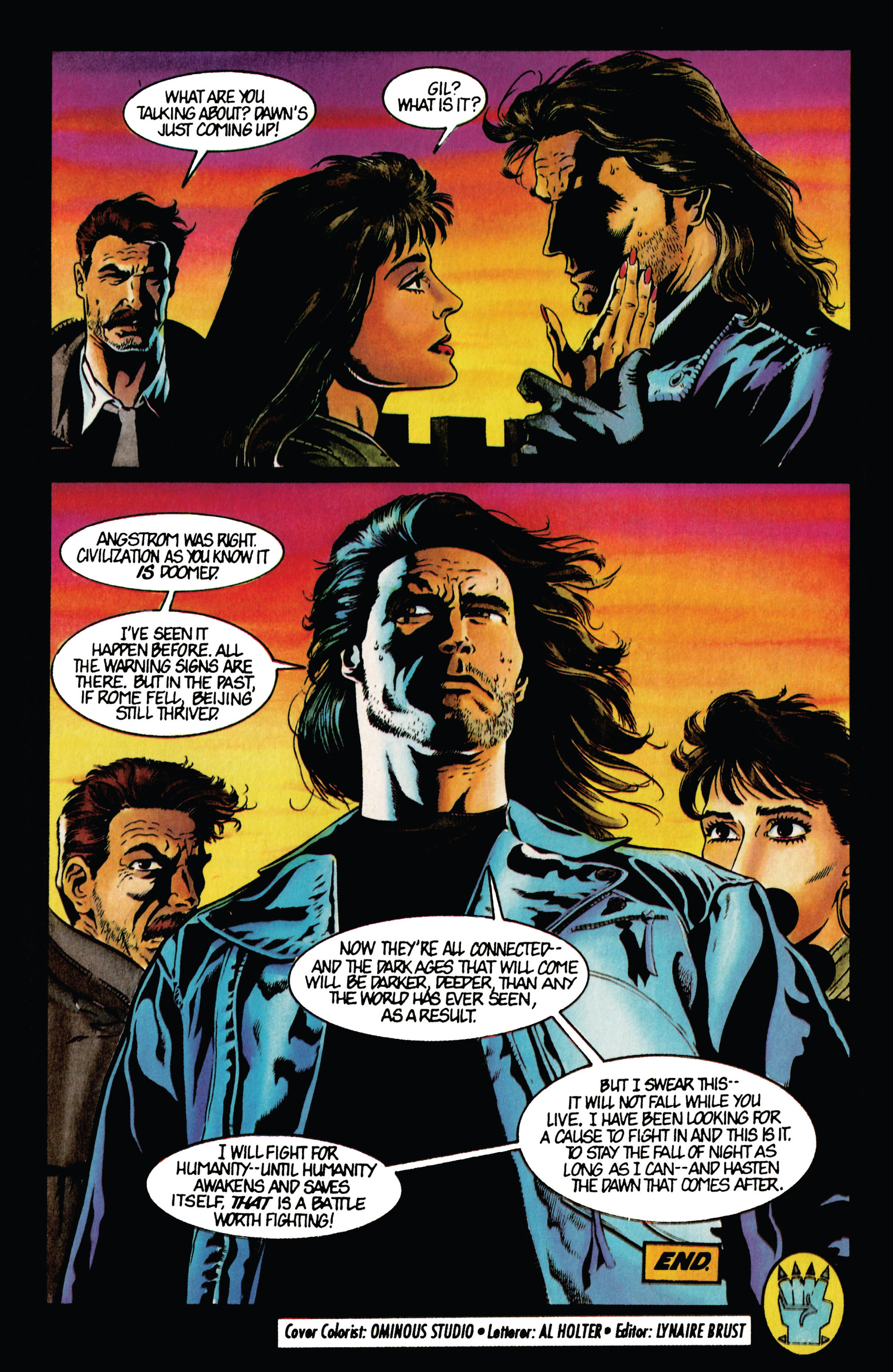 Read online Eternal Warrior (1992) comic -  Issue #36 - 21