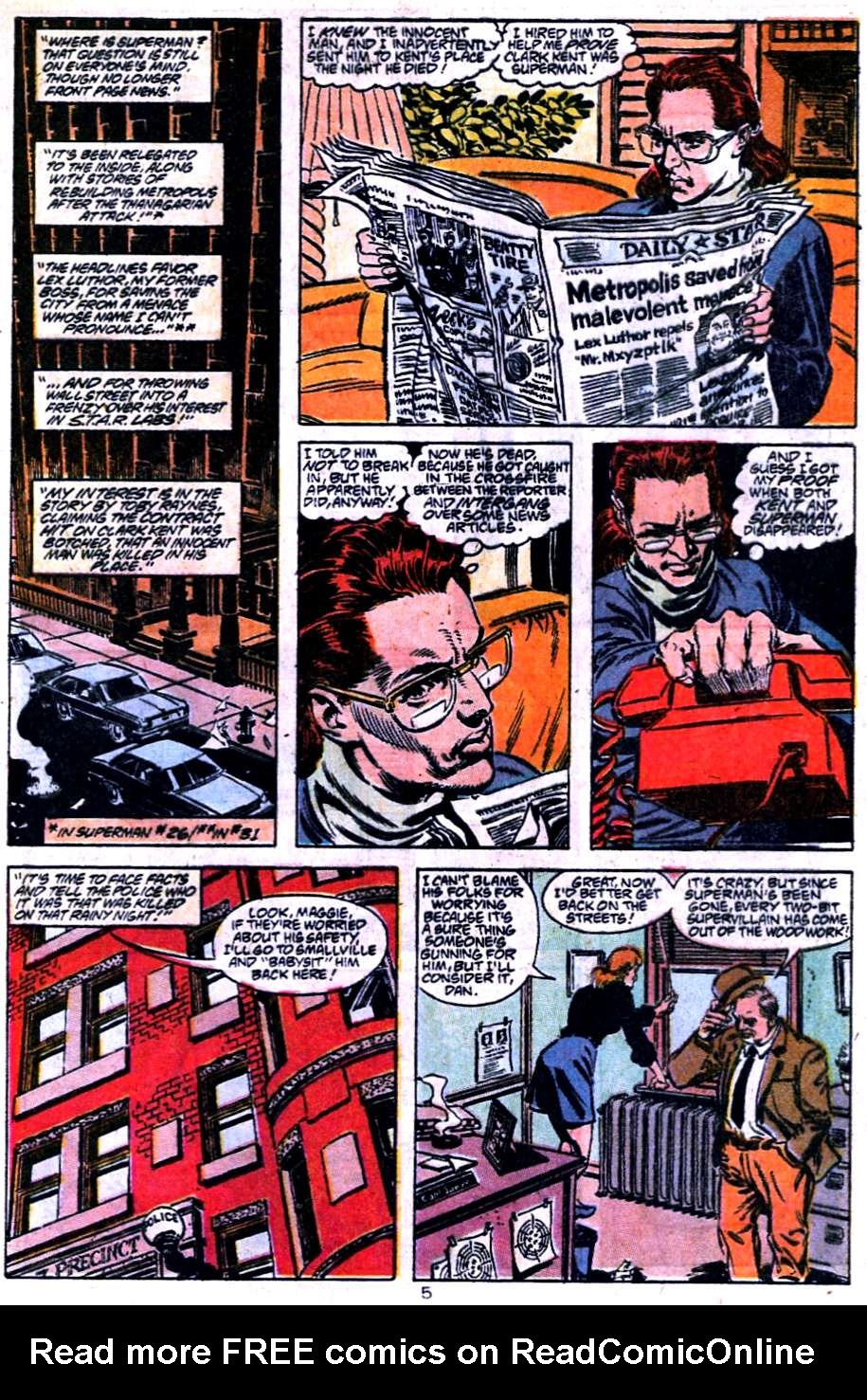 Read online Adventures of Superman (1987) comic -  Issue #454 - 6