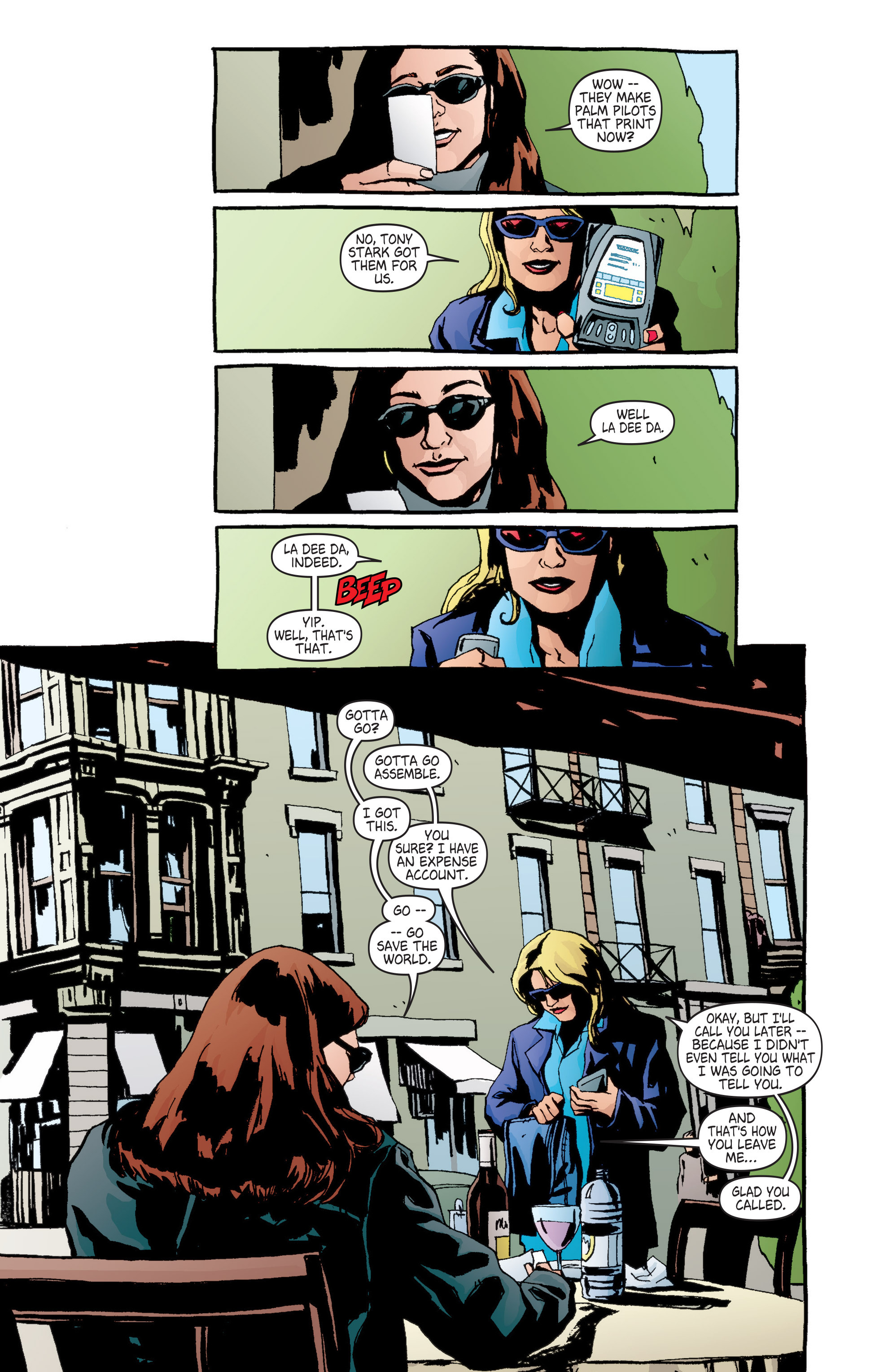 Read online Alias comic -  Issue #6 - 10