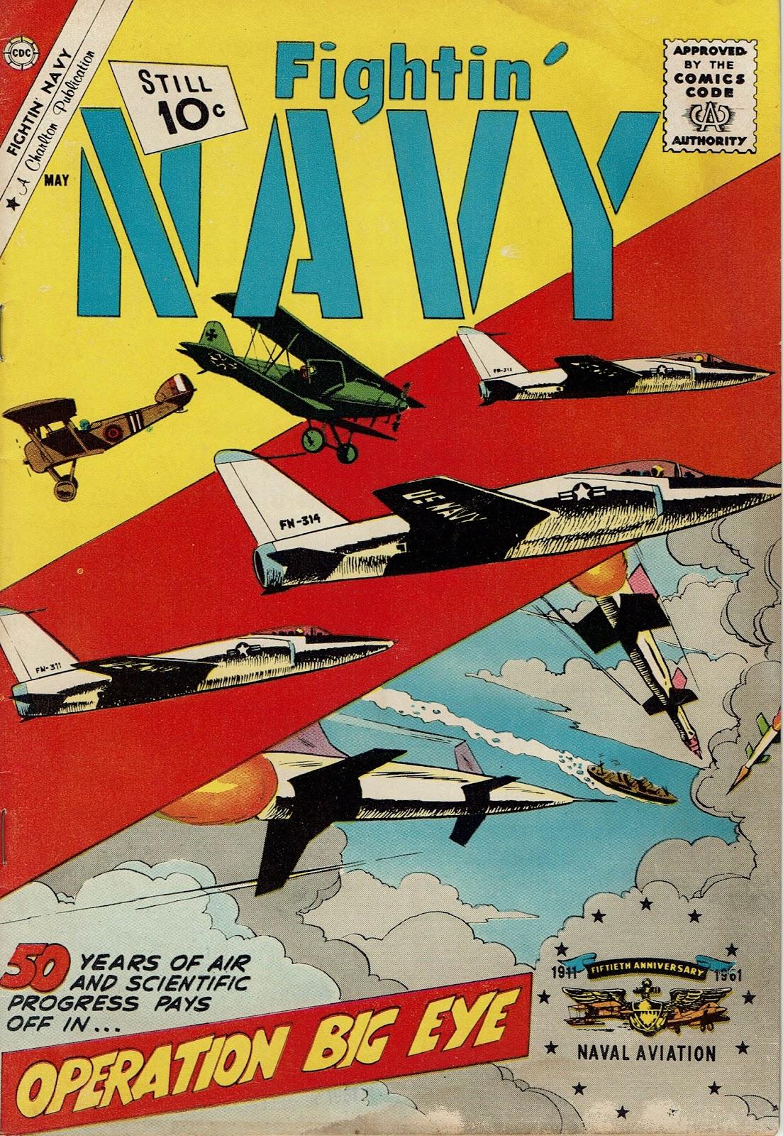 Read online Fightin' Navy comic -  Issue #98 - 1