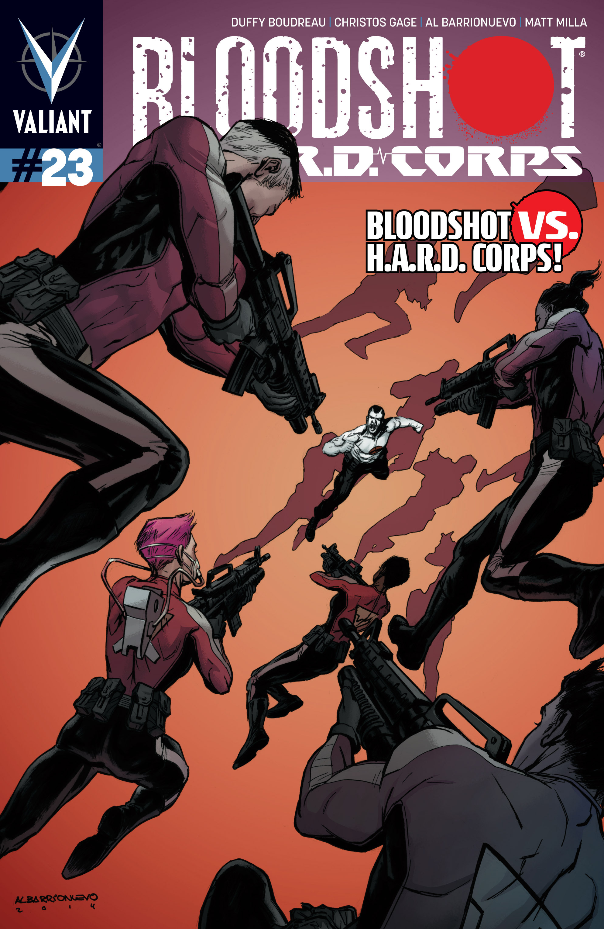 Bloodshot and H.A.R.D.Corps 23 Page 1