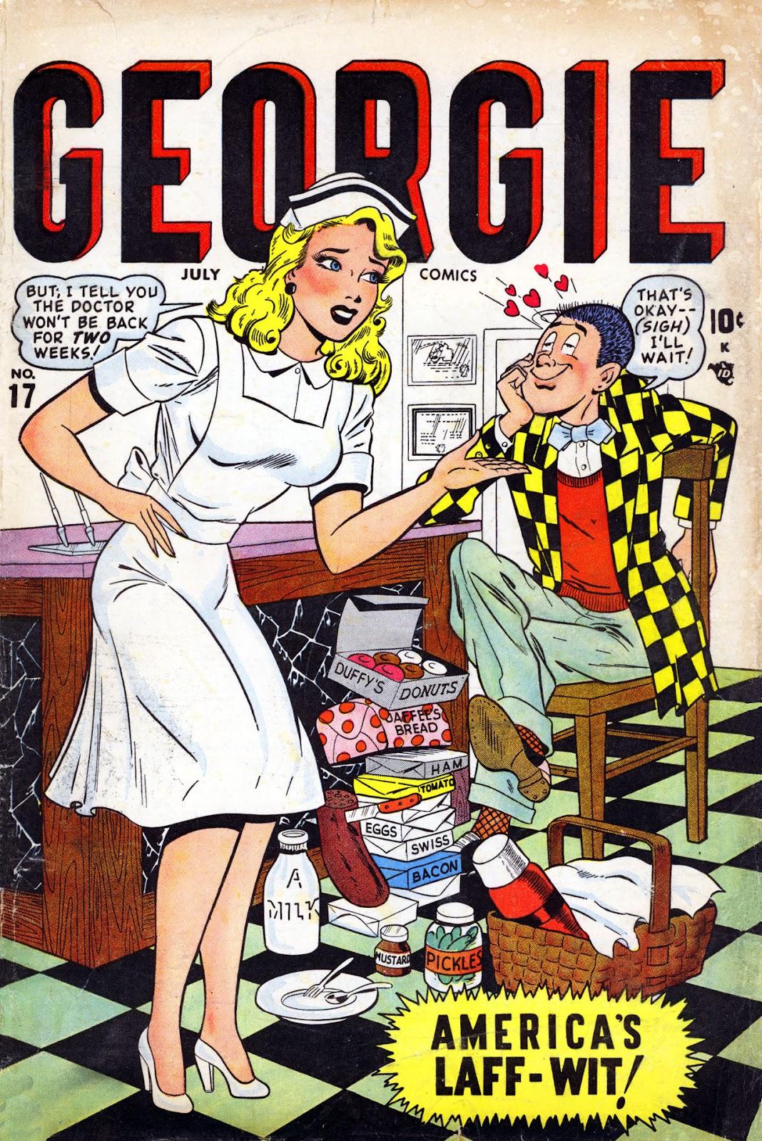 Georgie Comics (1945) issue 17 - Page 1