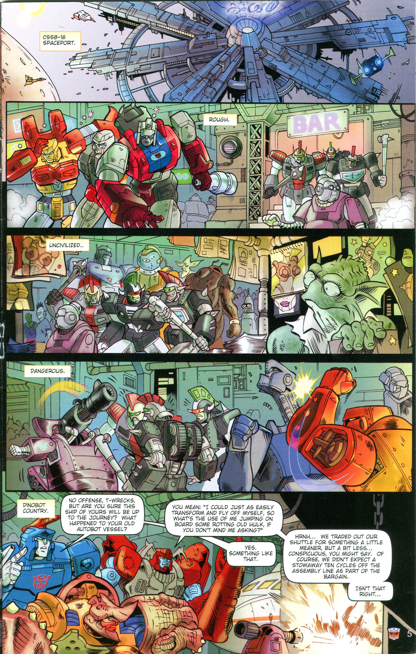 Read online Transformers: Collectors' Club comic -  Issue #16 - 5