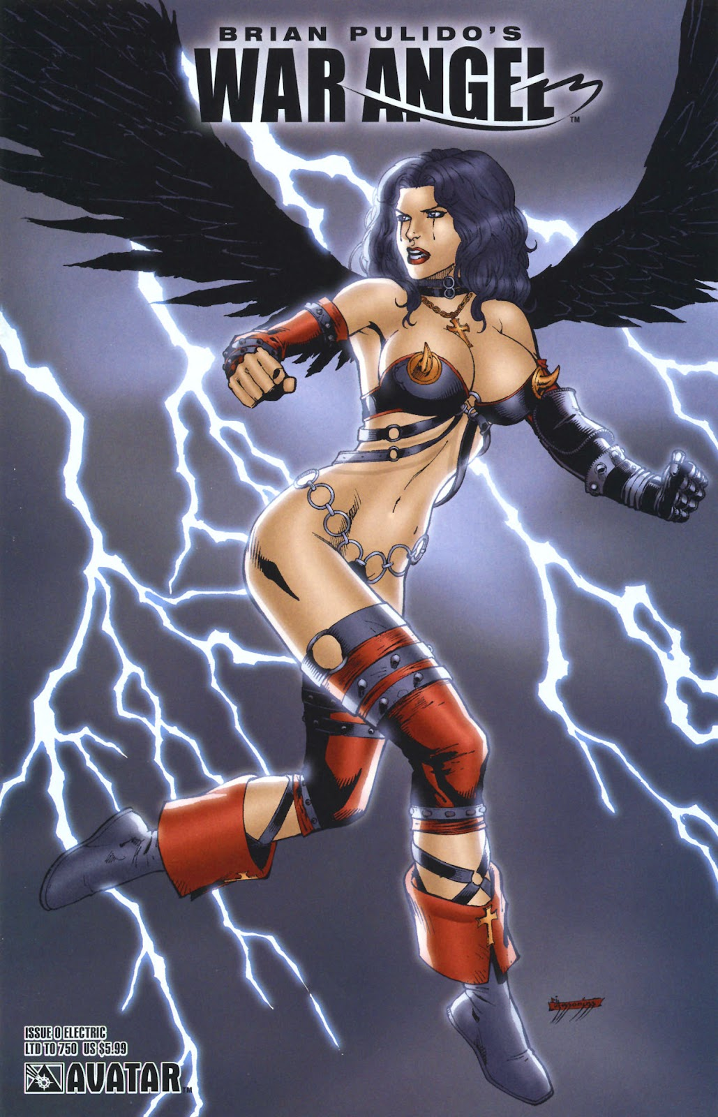 Read online Brian Pulido's War Angel comic -  Issue #0 - 1