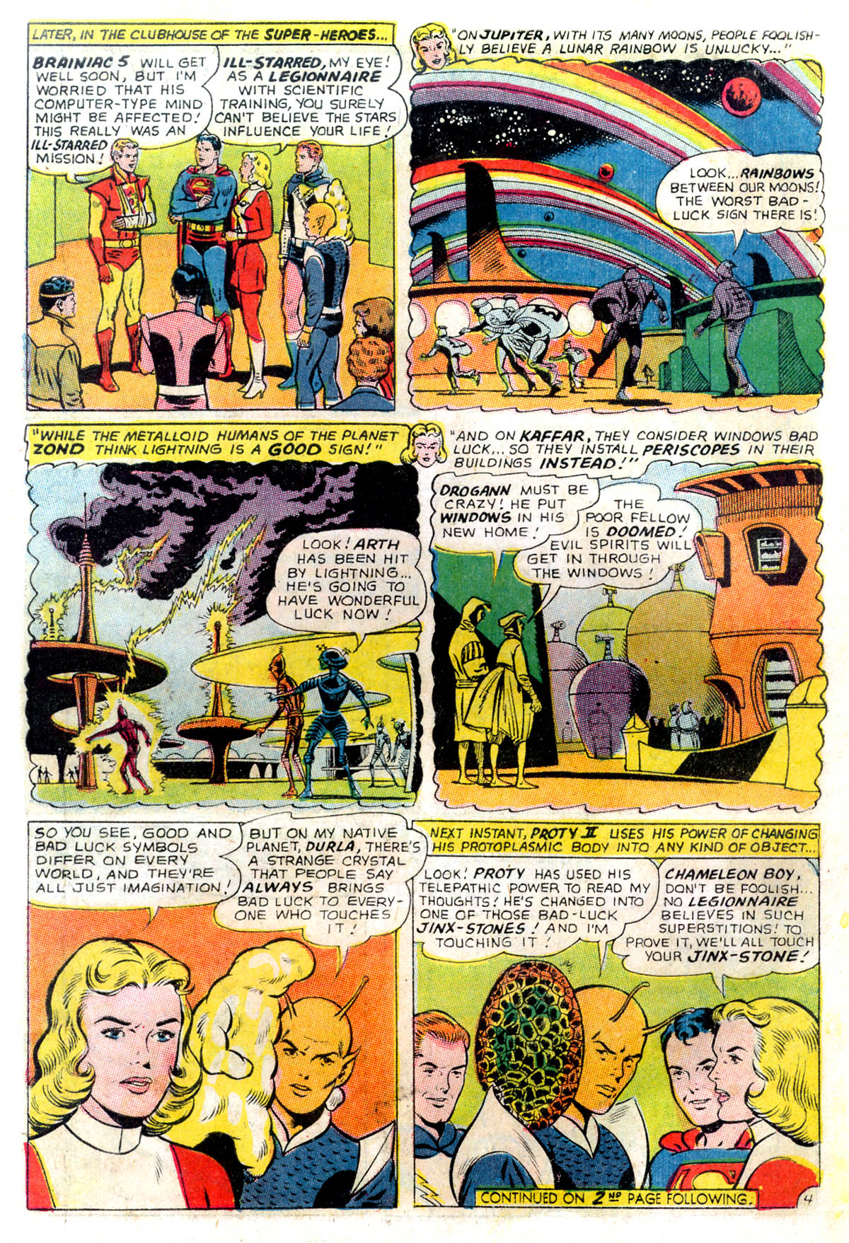 Read online Adventure Comics (1938) comic -  Issue #343 - 6