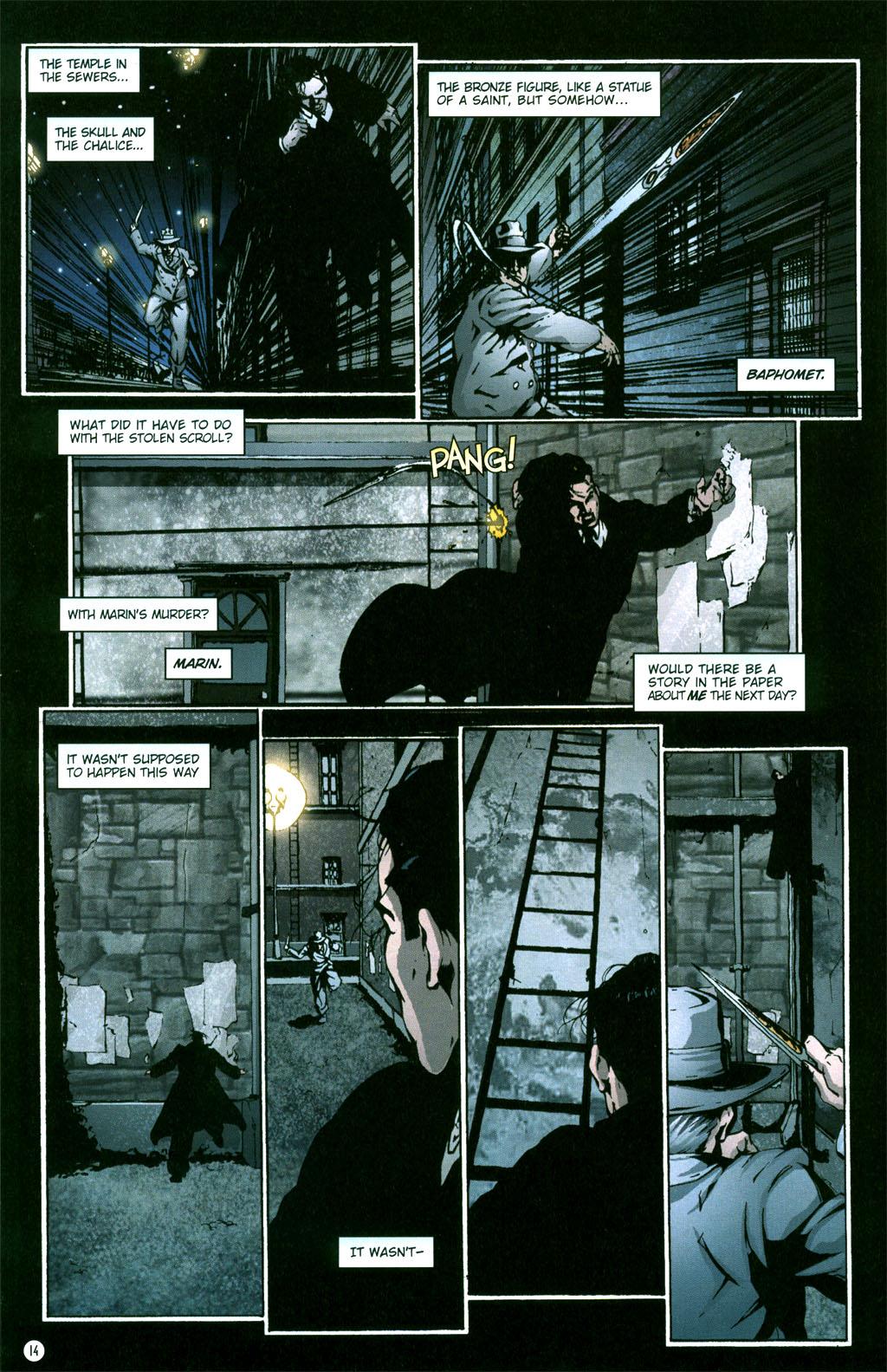 Read online Rex Mundi comic -  Issue #5 - 16