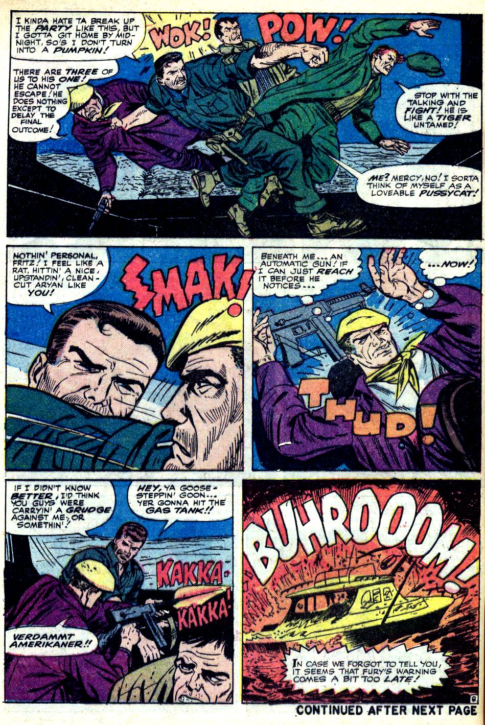 Read online Sgt. Fury comic -  Issue #25 - 12