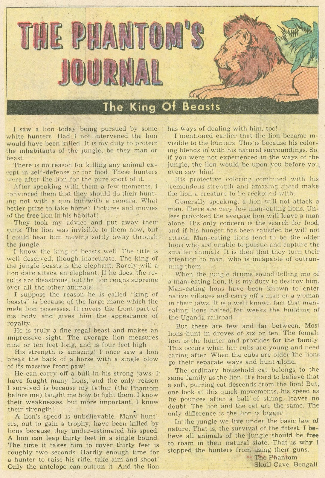 The Phantom (1969) issue 31 - Page 17