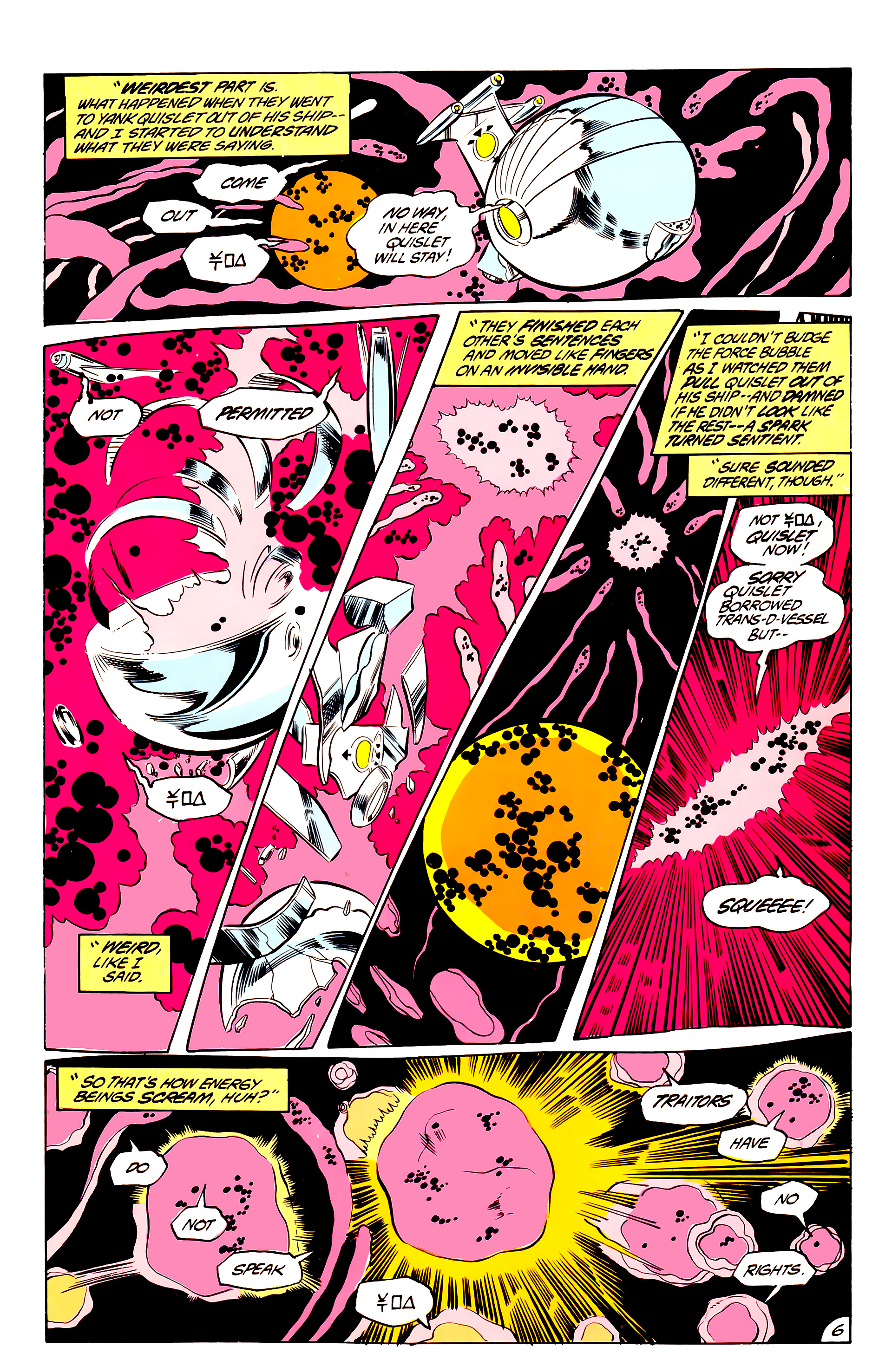 Legion of Super-Heroes (1984) 44 Page 6