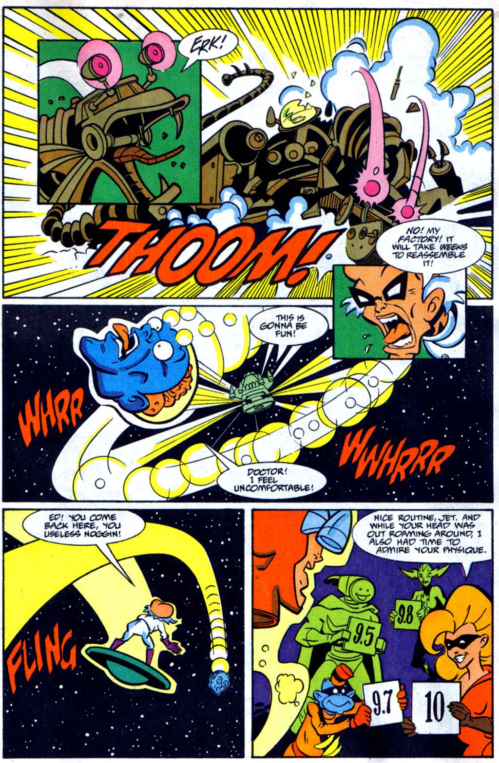 Read online Defenders of Dynatron City comic -  Issue #2 - 22