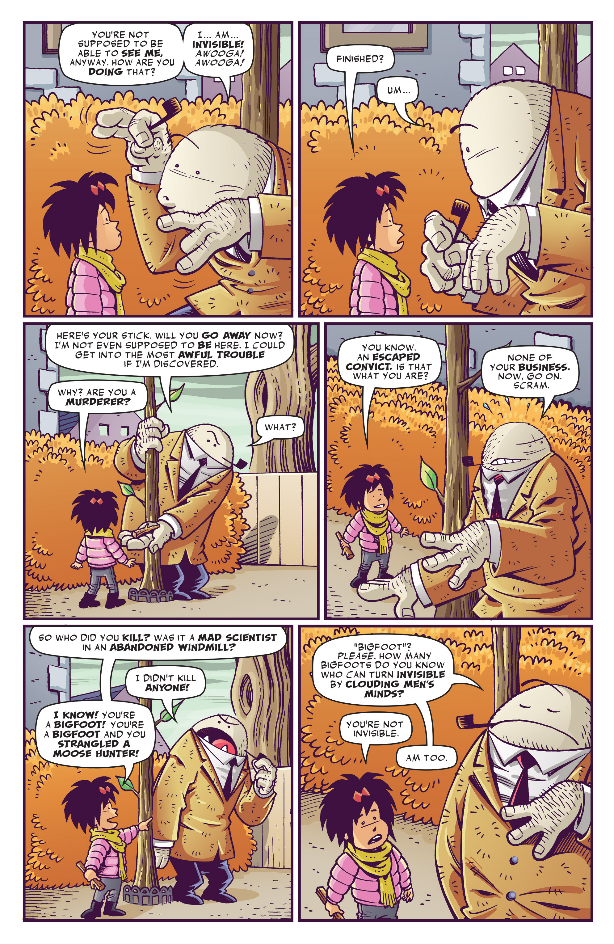 Read online Abigail And The Snowman comic -  Issue #1 - 15