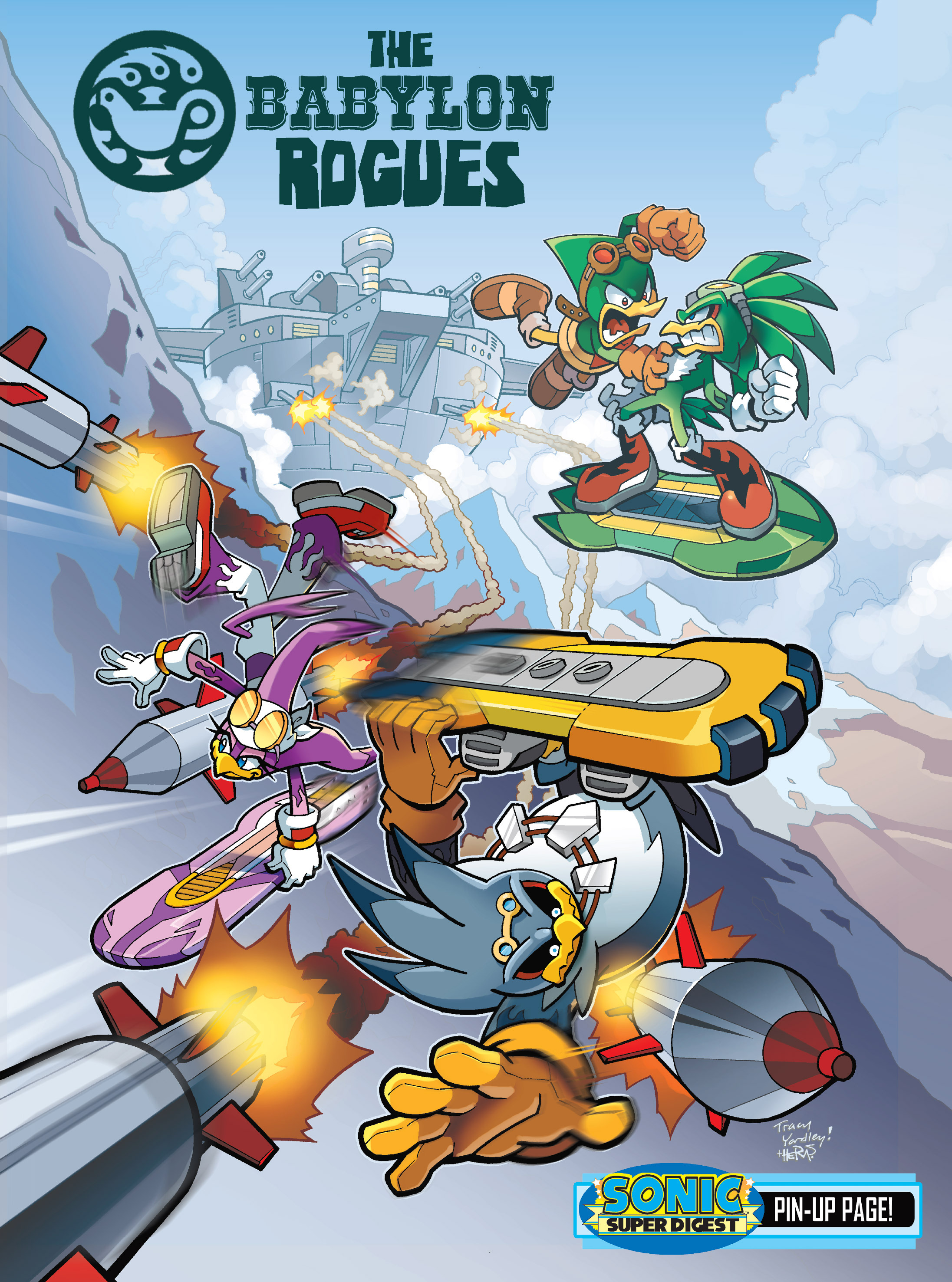 Read online Sonic Super Digest comic -  Issue #8 - 97