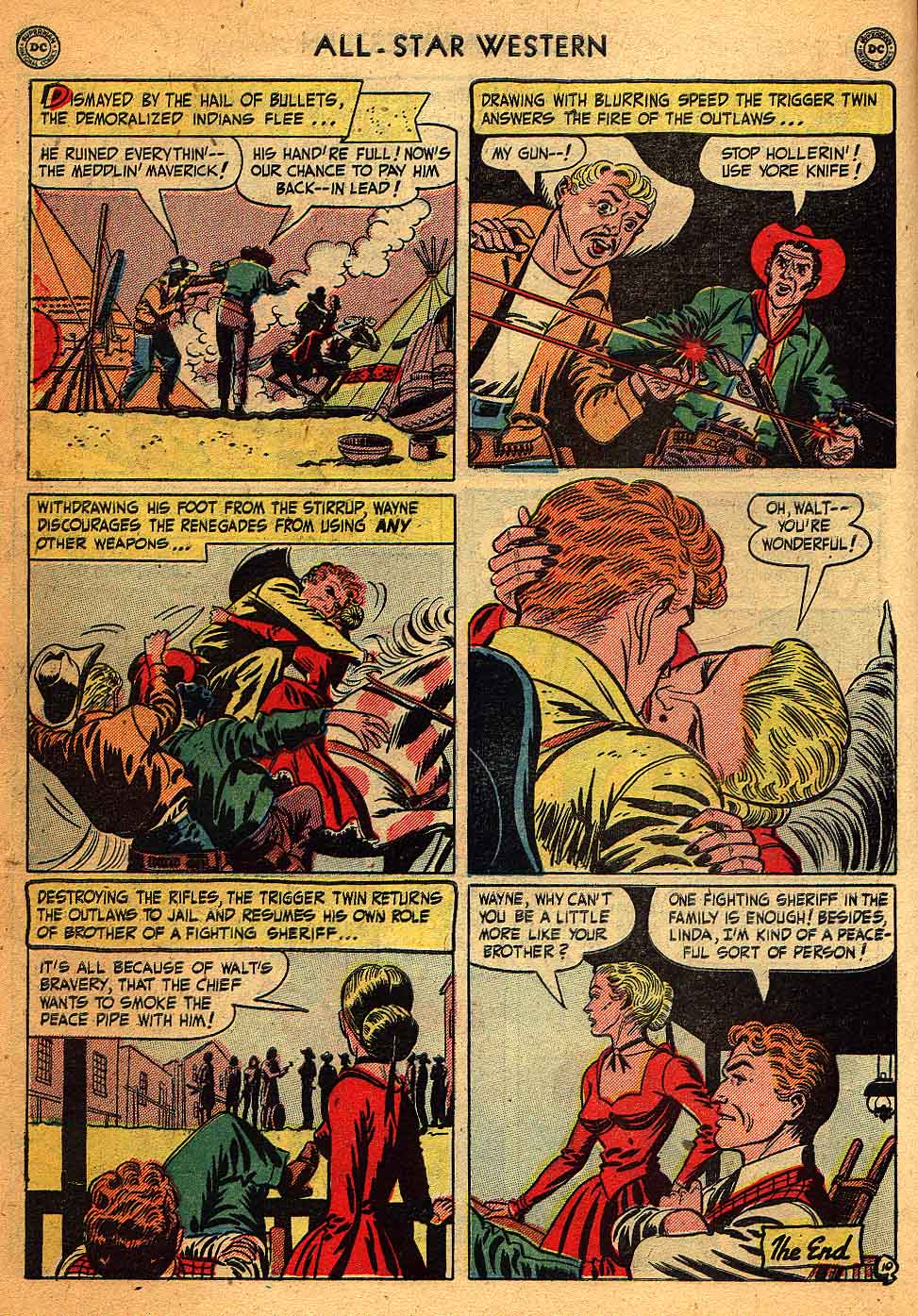 Read online All-Star Western (1951) comic -  Issue #58 - 12