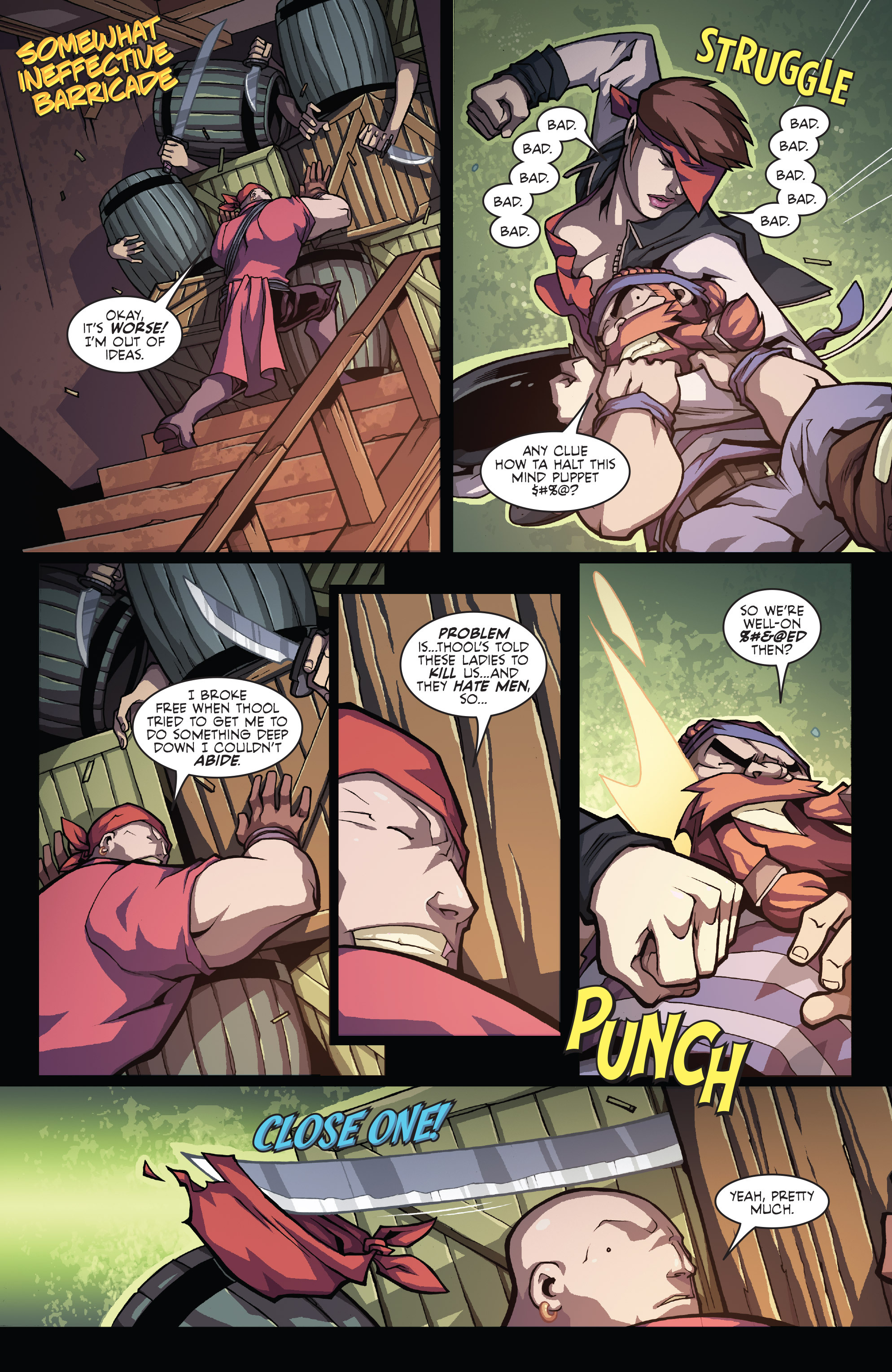 Read online Skullkickers comic -  Issue #16 - 10