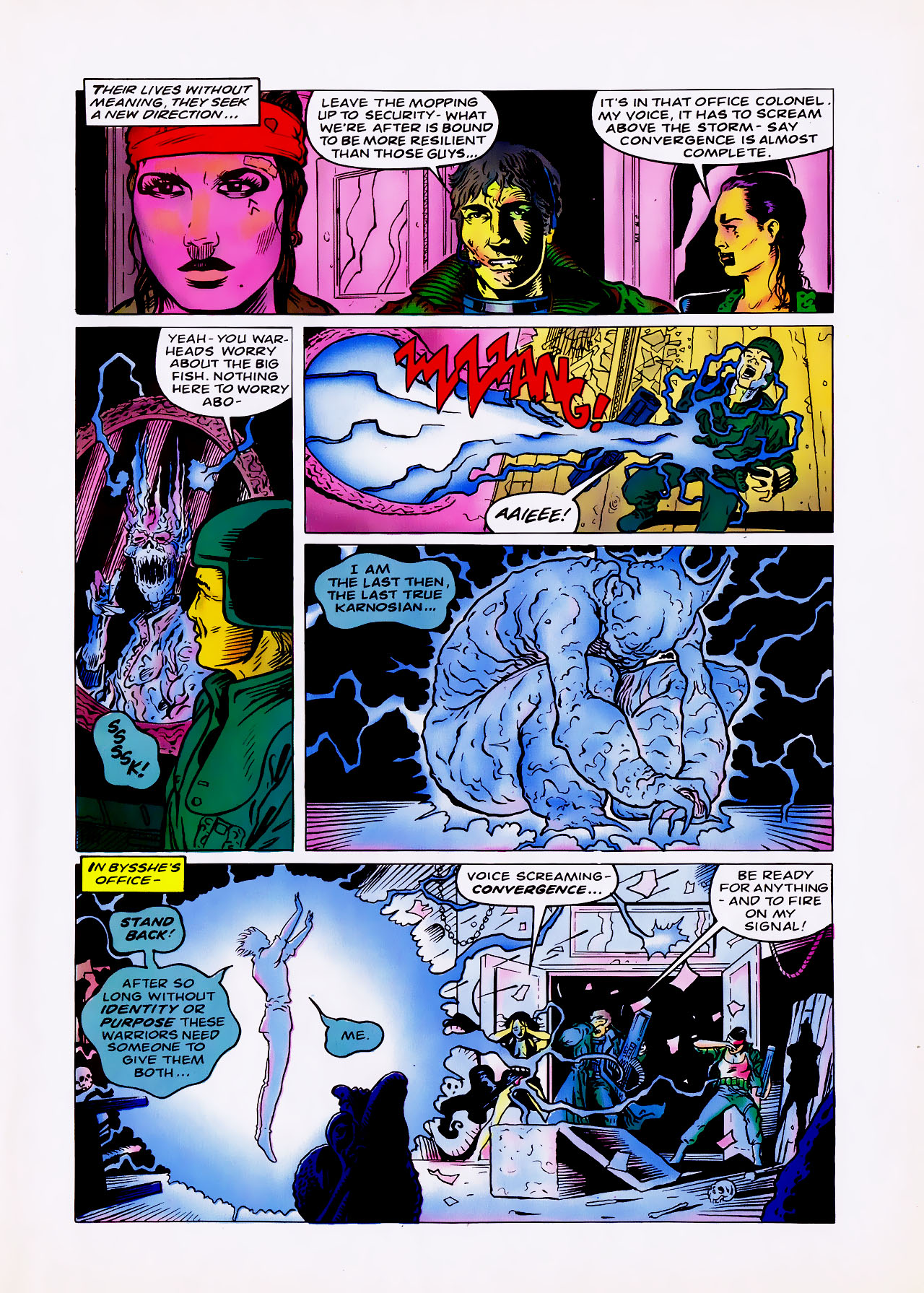 Read online Overkill comic -  Issue #11 - 31