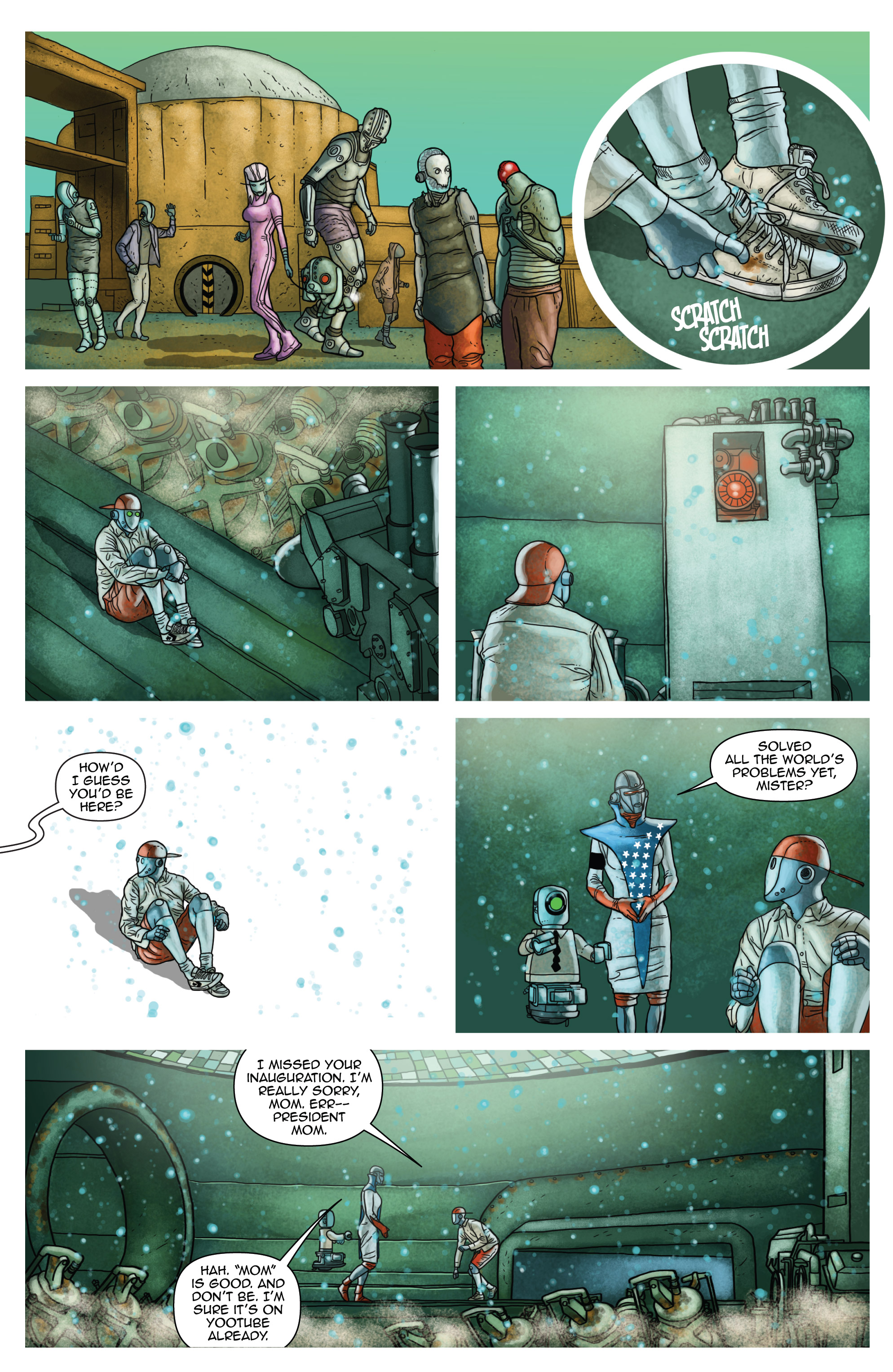Read online D4VEocracy comic -  Issue #4 - 24