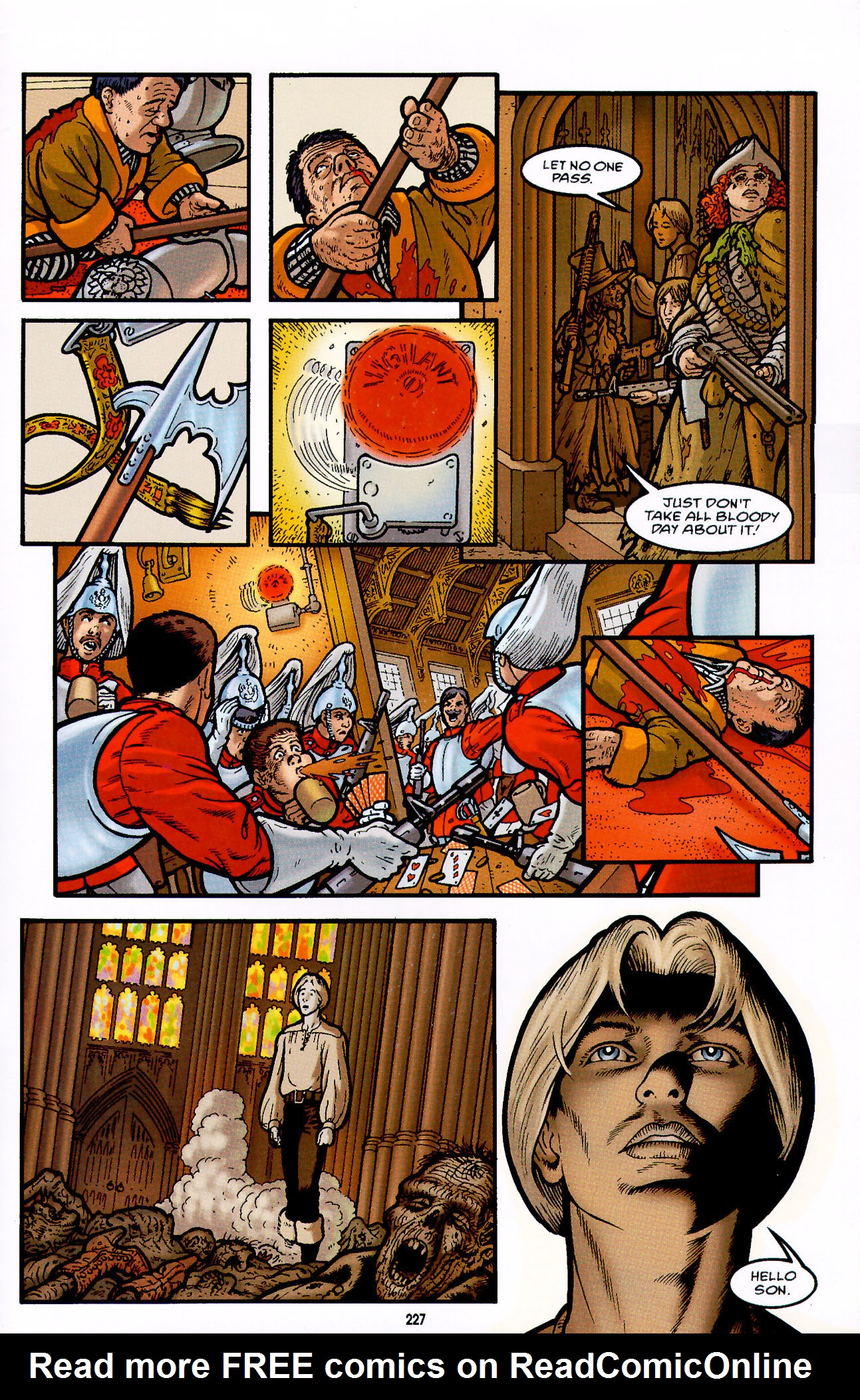 Read online Heart of Empire comic -  Issue #7 - 33