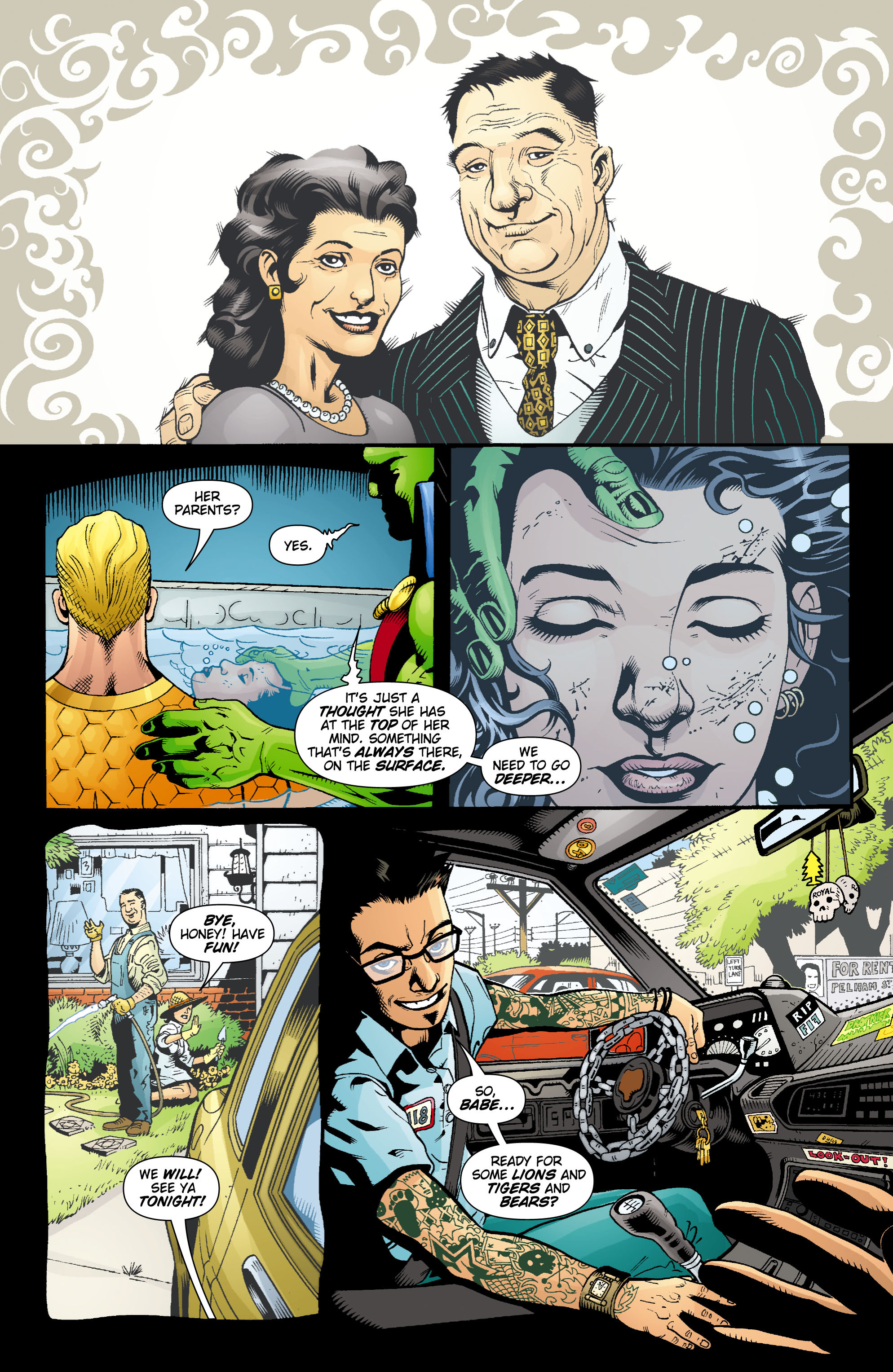 Read online Aquaman (2003) comic -  Issue #16 - 18