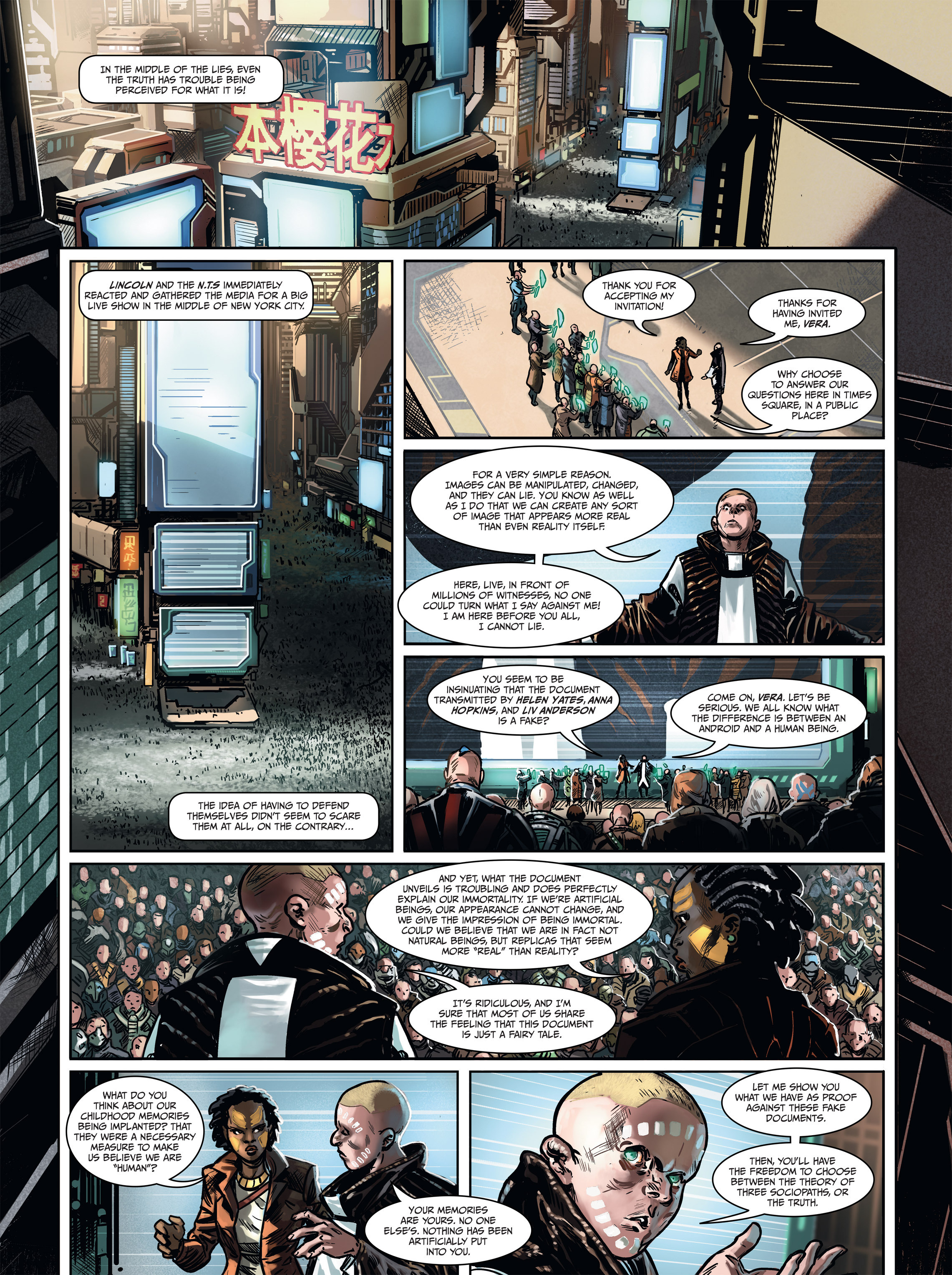 Read online Androïds comic -  Issue #1 - 57