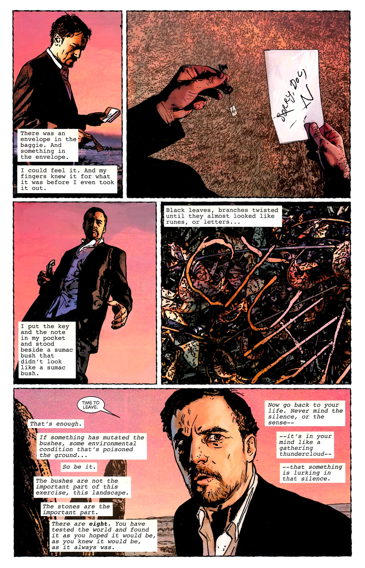 Read online Stephen King's N. comic -  Issue #3 - 9