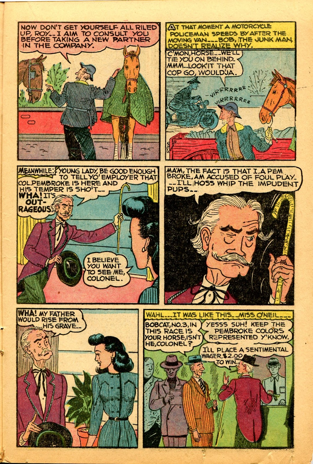 Read online Famous Funnies comic -  Issue #159 - 19