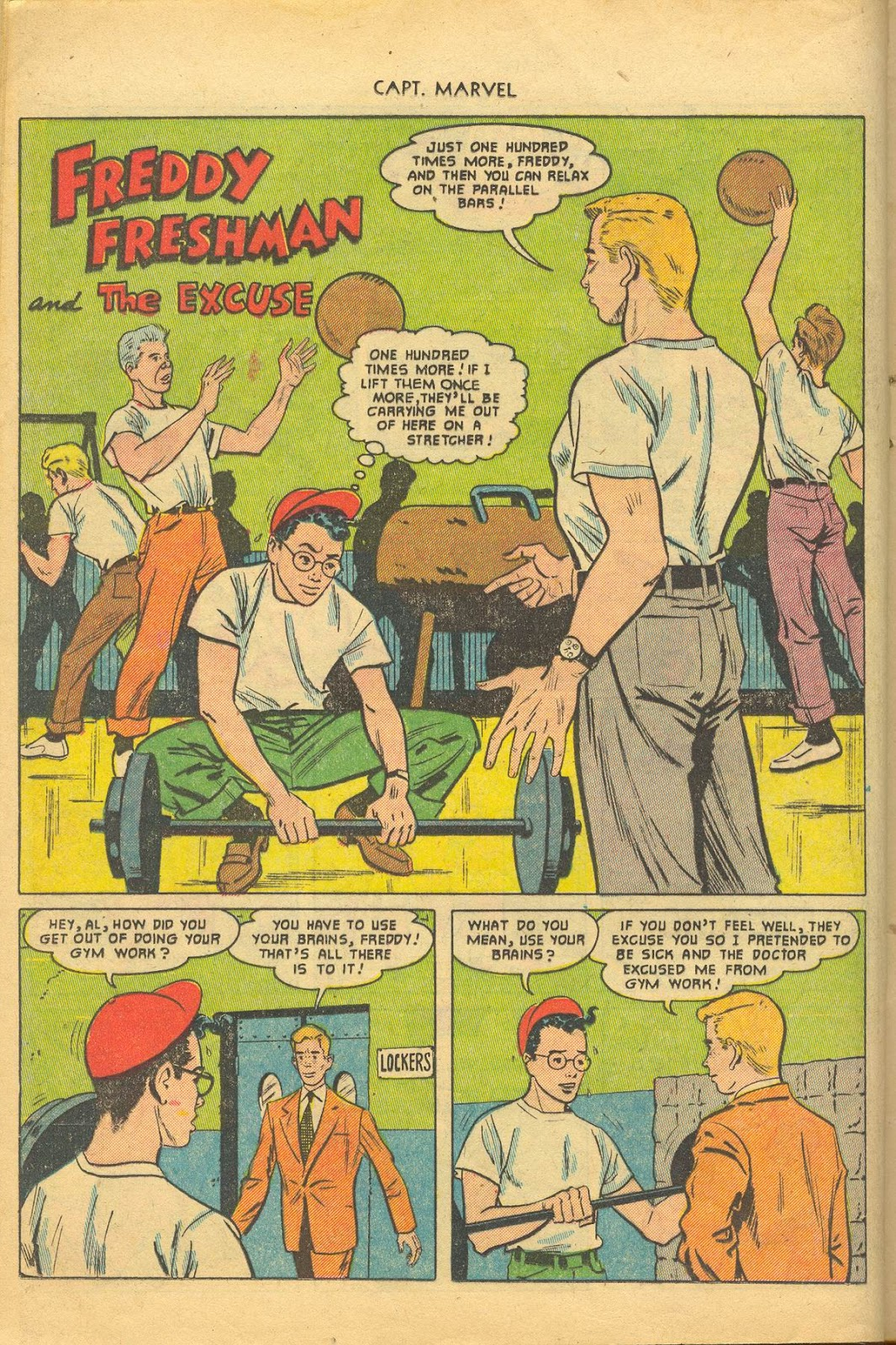 Captain Marvel Adventures issue 132 - Page 12