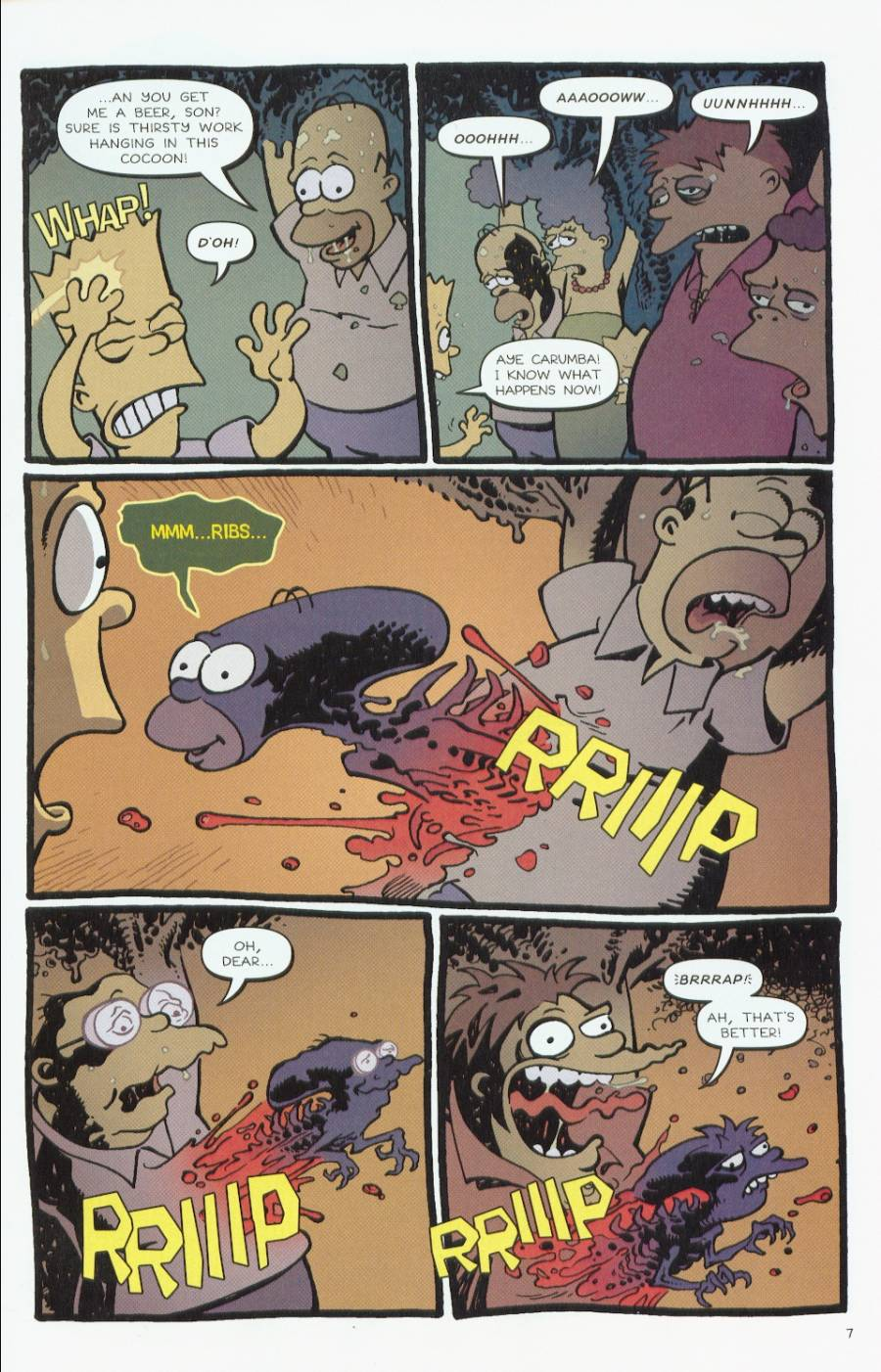 Read online Treehouse of Horror comic -  Issue #7 - 8