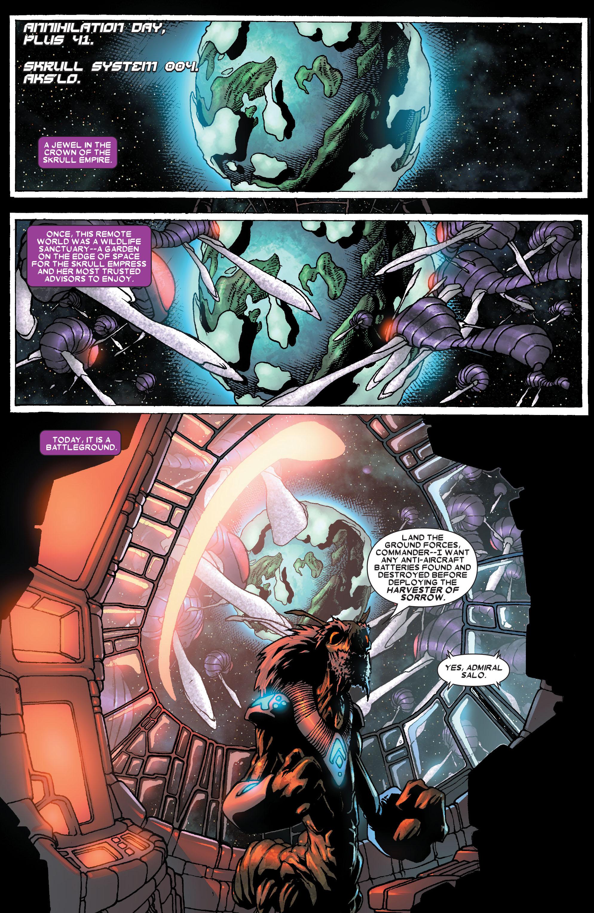 Read online Annihilation: Super-Skrull comic -  Issue #1 - 2