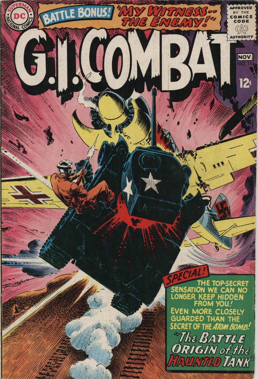 G.I. Combat (1952) 114 Page 1