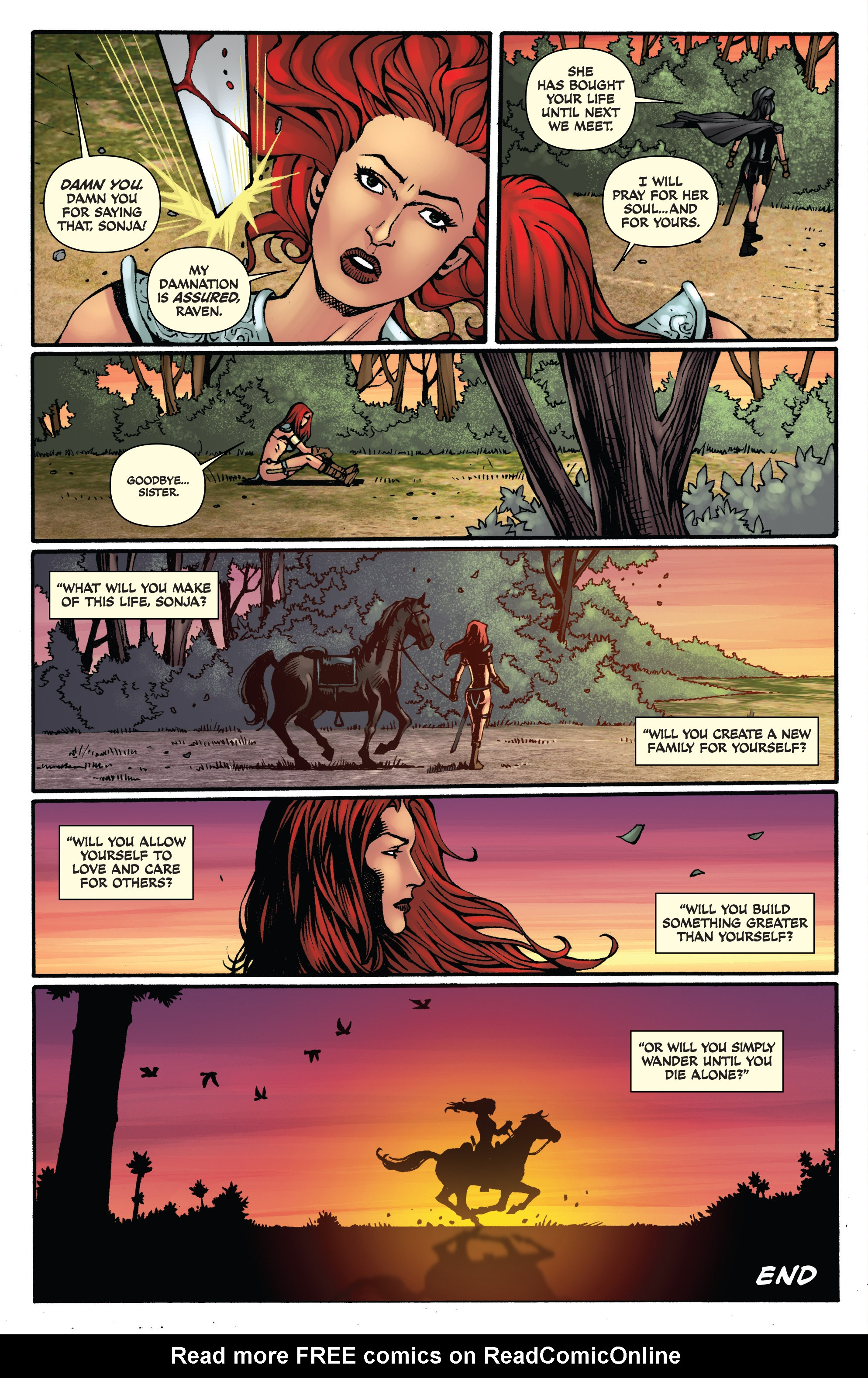 Read online Red Sonja: Sanctuary comic -  Issue # Full - 26