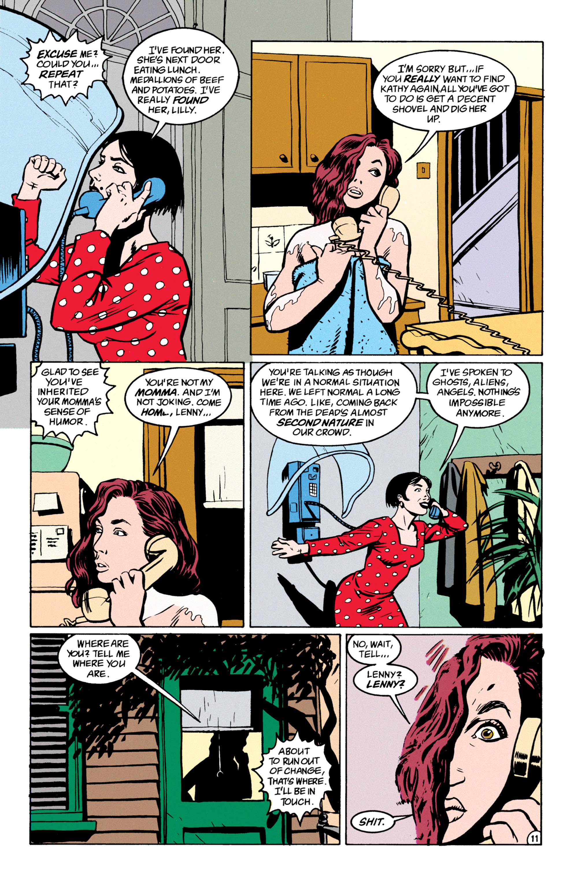 Read online Shade, the Changing Man comic -  Issue #52 - 12